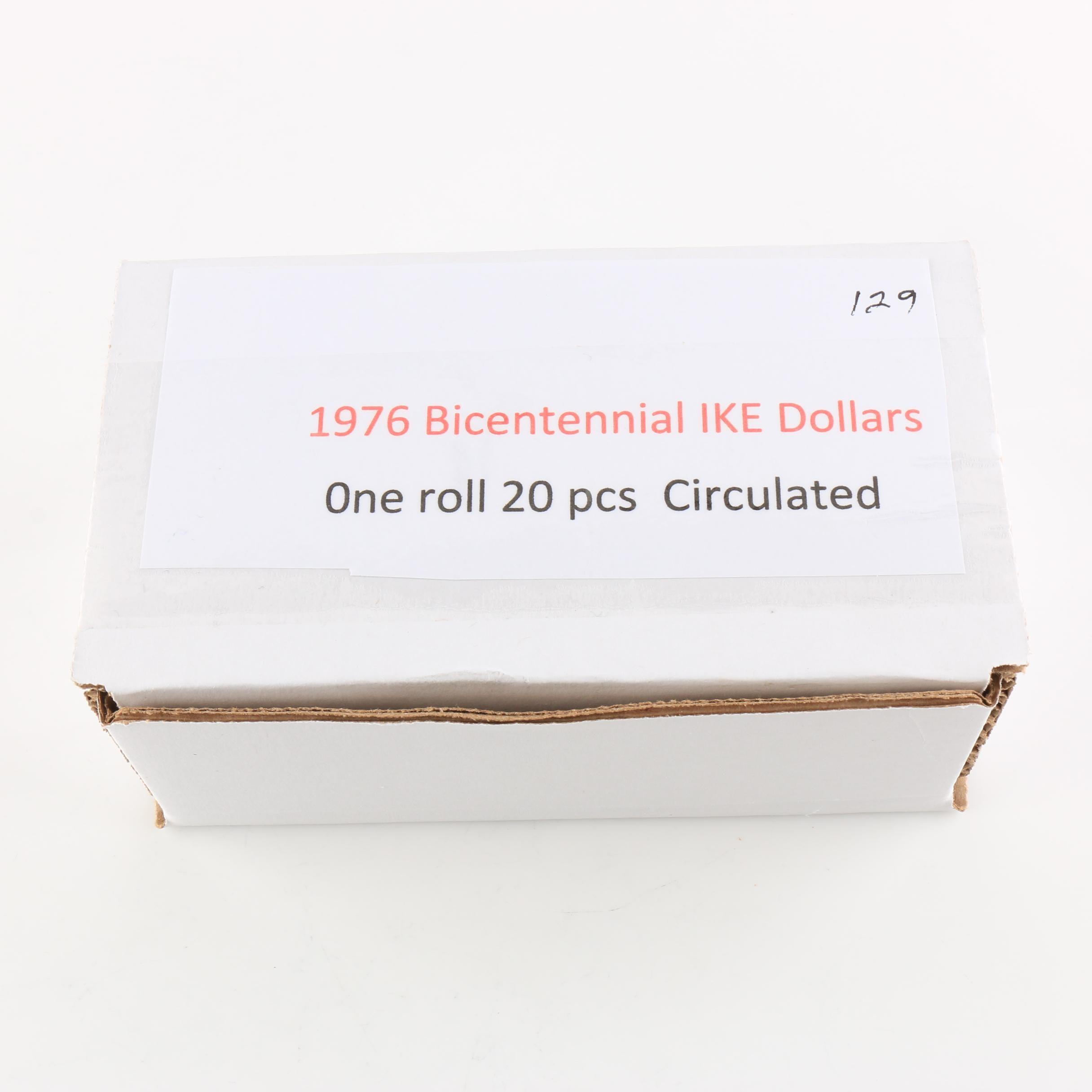 Group of Twenty 1976 Bicentennial Eisenhower Dollars