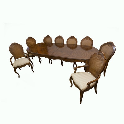 Drexel-Heritage French Provincial Style Pecan