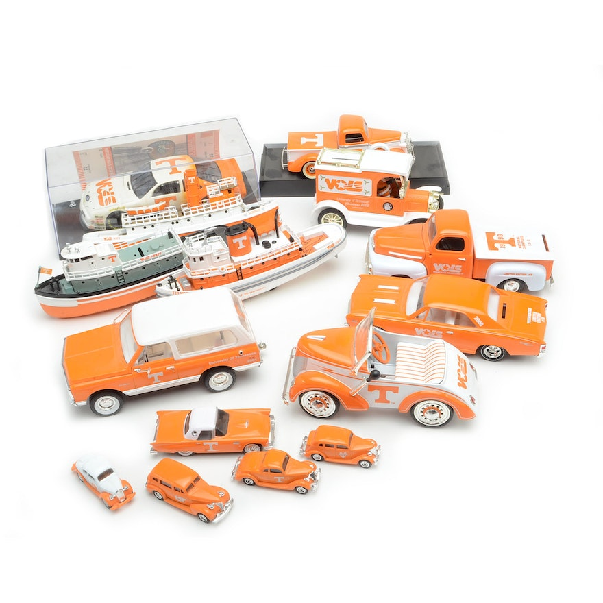 Collectible Tennessee Volunteers Limited Edition Die Cast