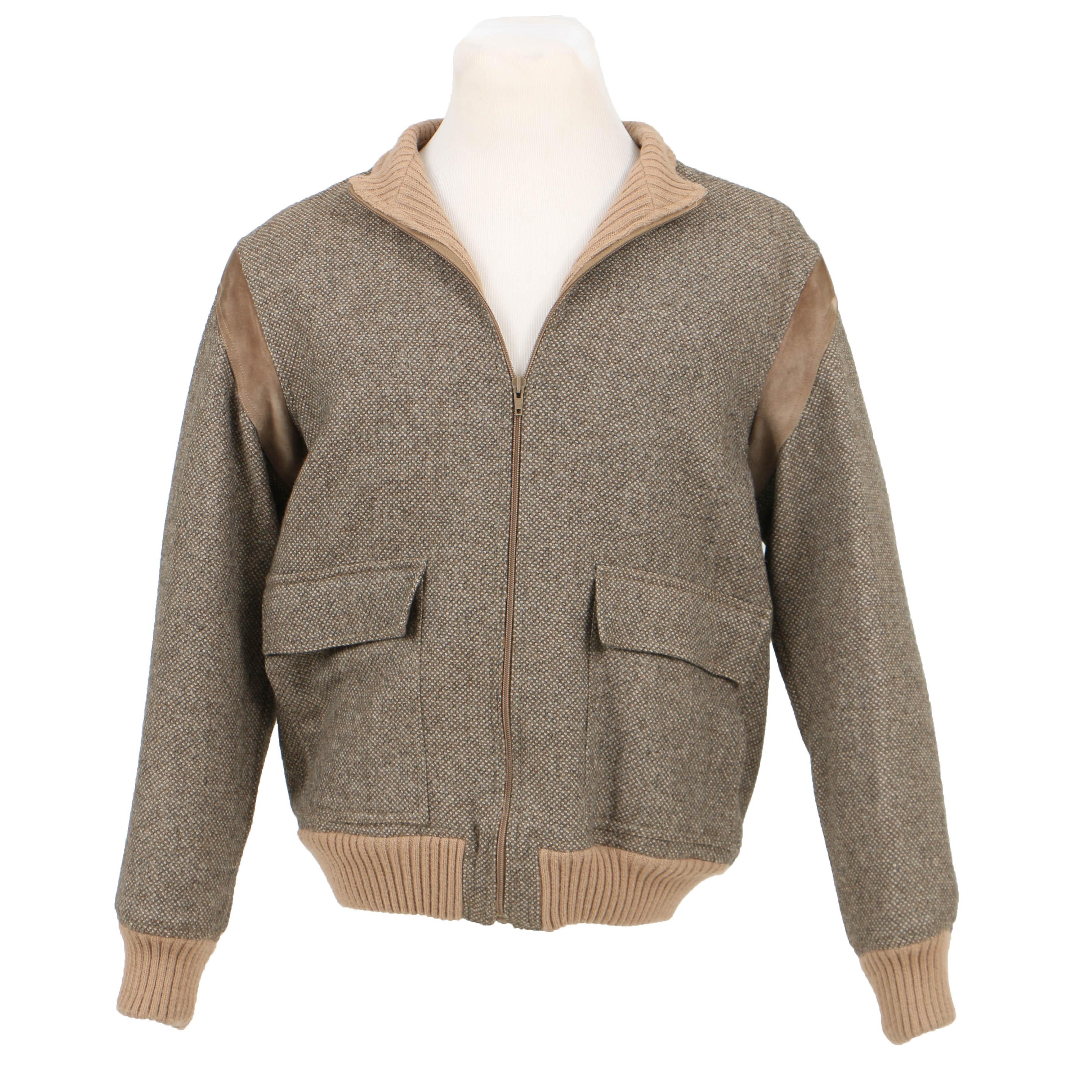 Vintage Italian G. Gucci Wool Jacket