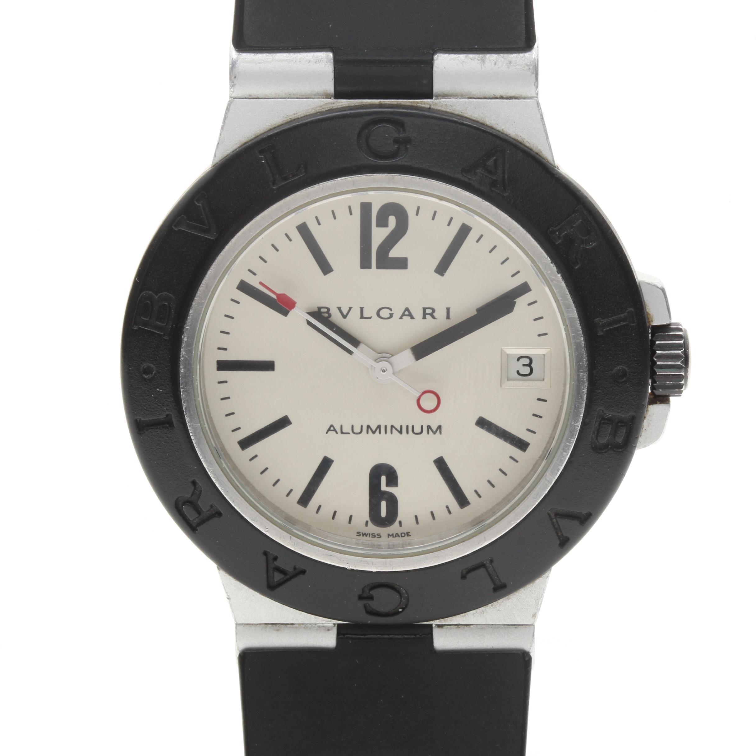 Bulgari Aluminum Wristwatch
