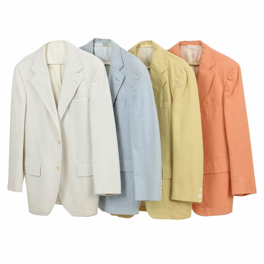 Four Men's Sport Coats