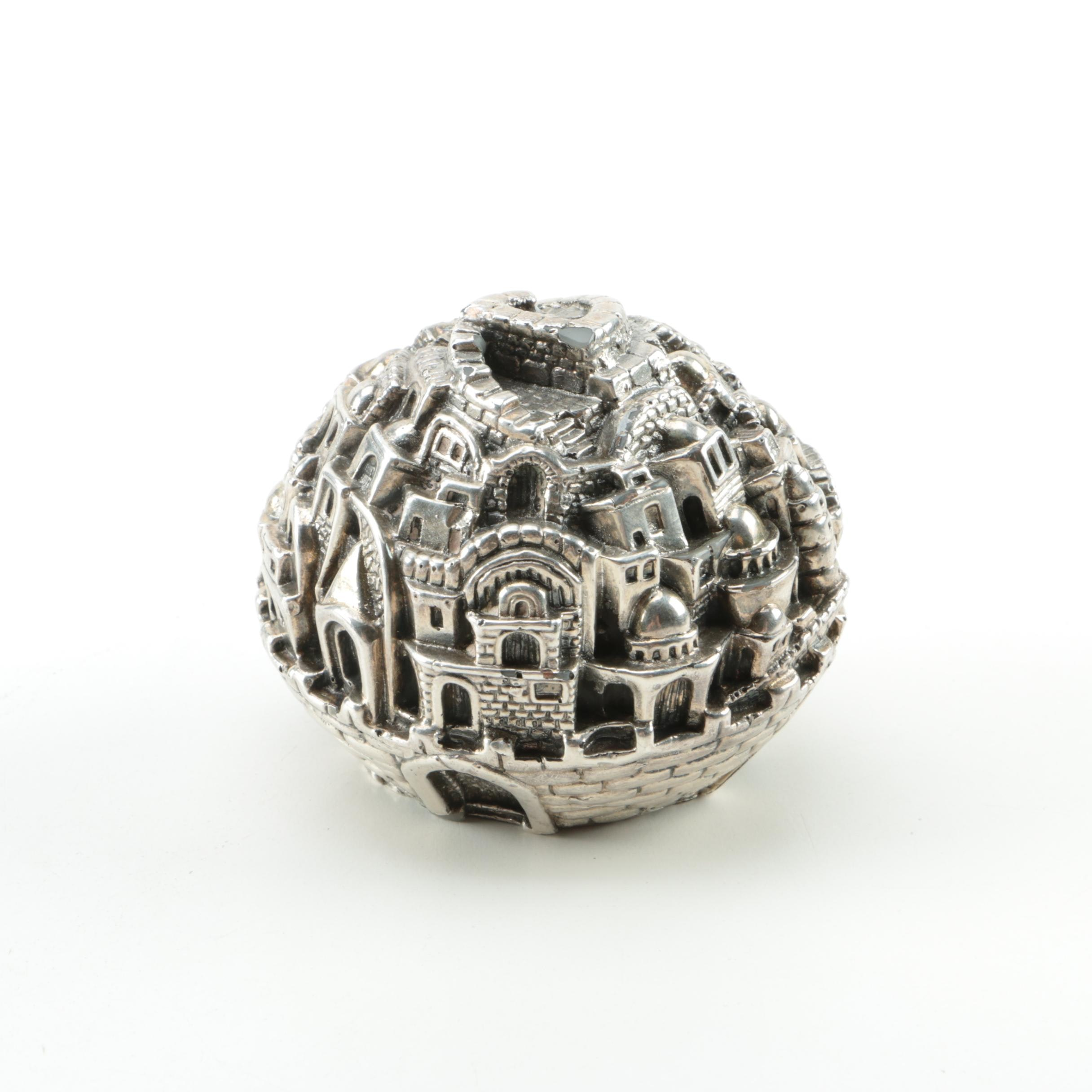 Silver Plated Paperweight