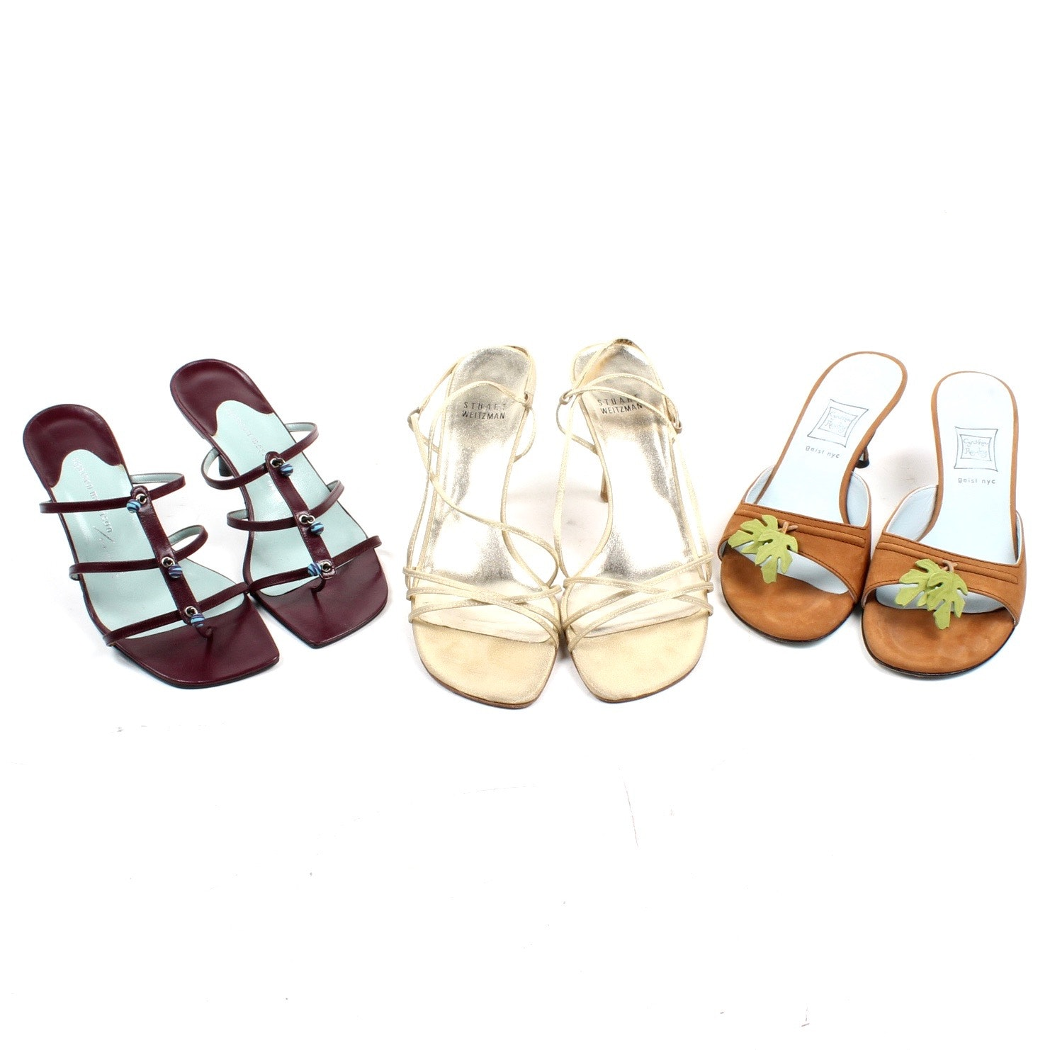 Women's Sandals Featuring Stuart Weitzman