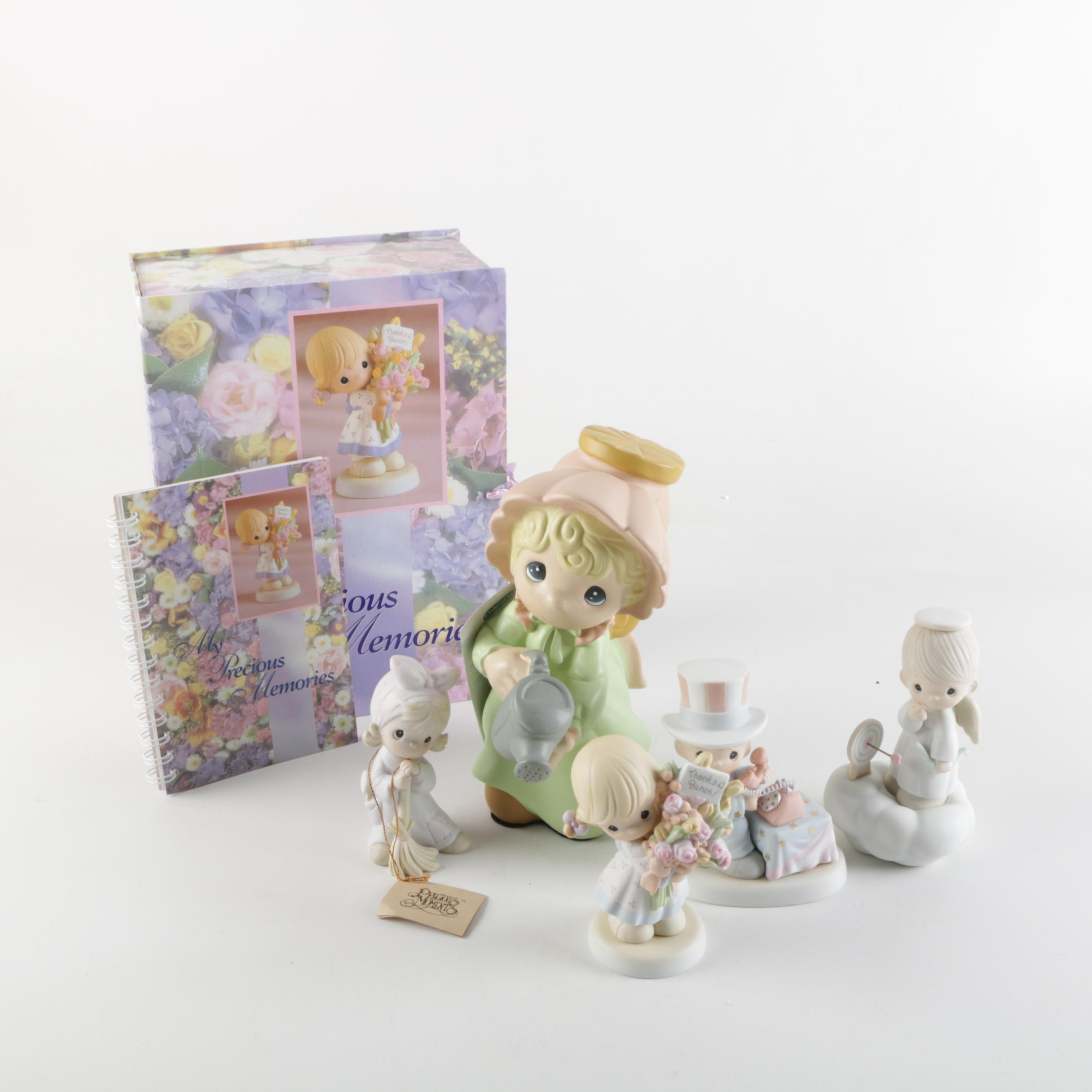 Precious Moments Figurines And Photo Journal