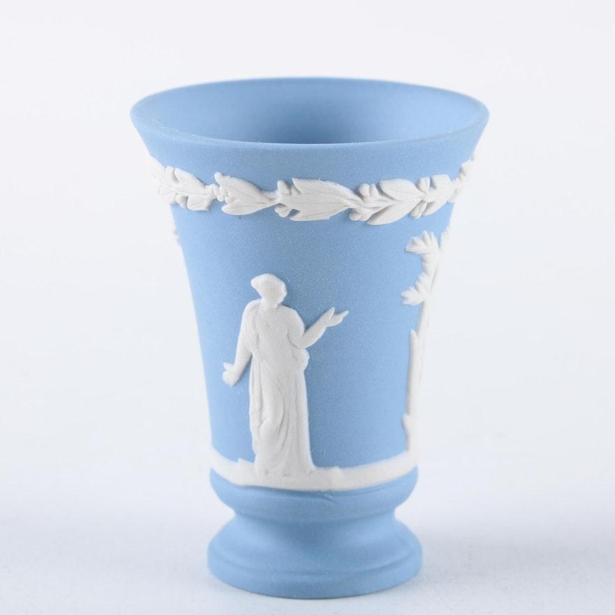 Wedgwood Jasperware Vase Ebth