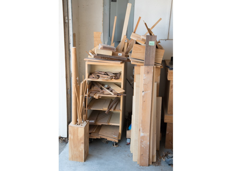 Project Wood Boards, Offcuts and Dowels