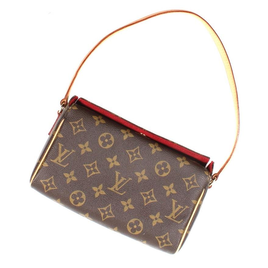 f8477065f5b3 Louis Vuitton Authentic Monogram Recital Pochette Handbag   EBTH
