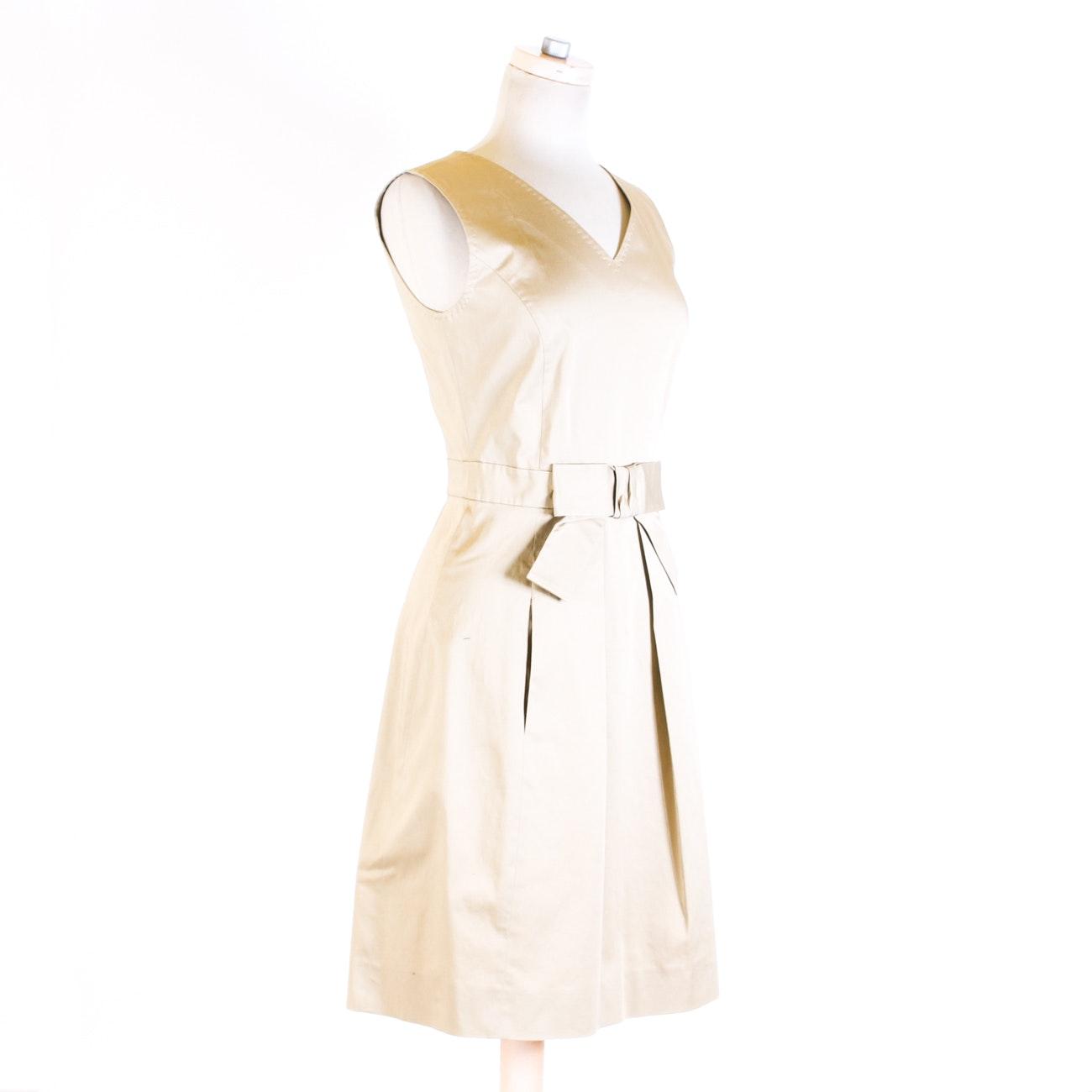 Moschino Sleeveless Cotton Dress