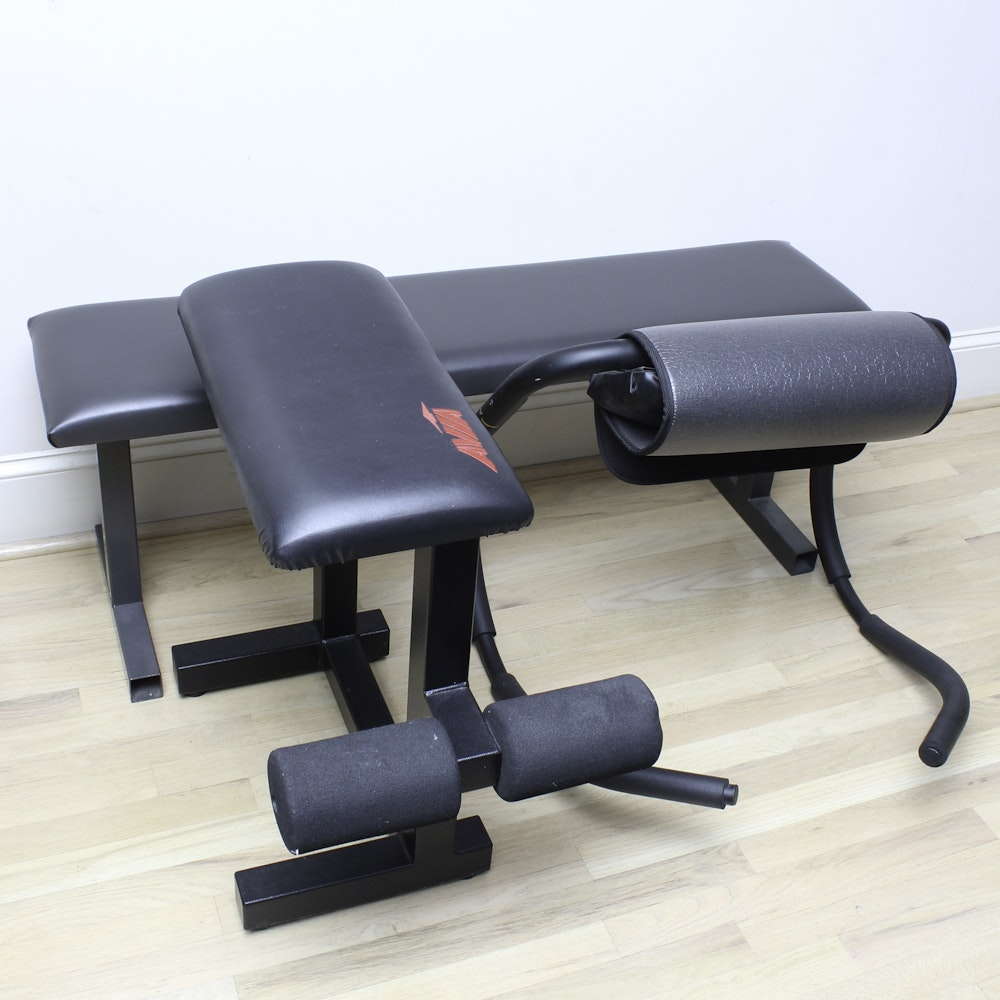 Workout Benches and Ab Trainer