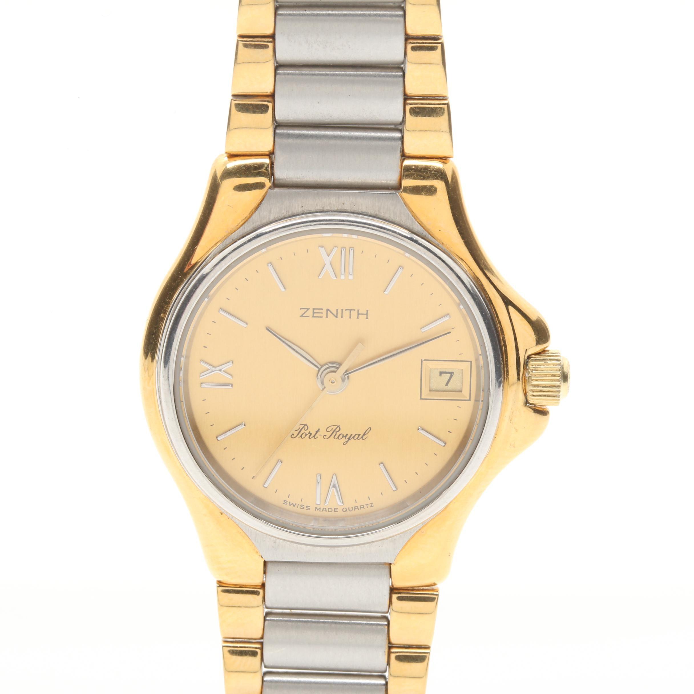 Two Tone Zenith Wristwatch