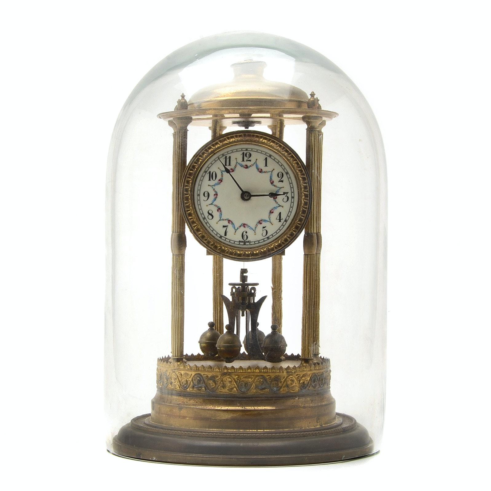 Kieninger & Obergfell German Anniversary Dome Clock