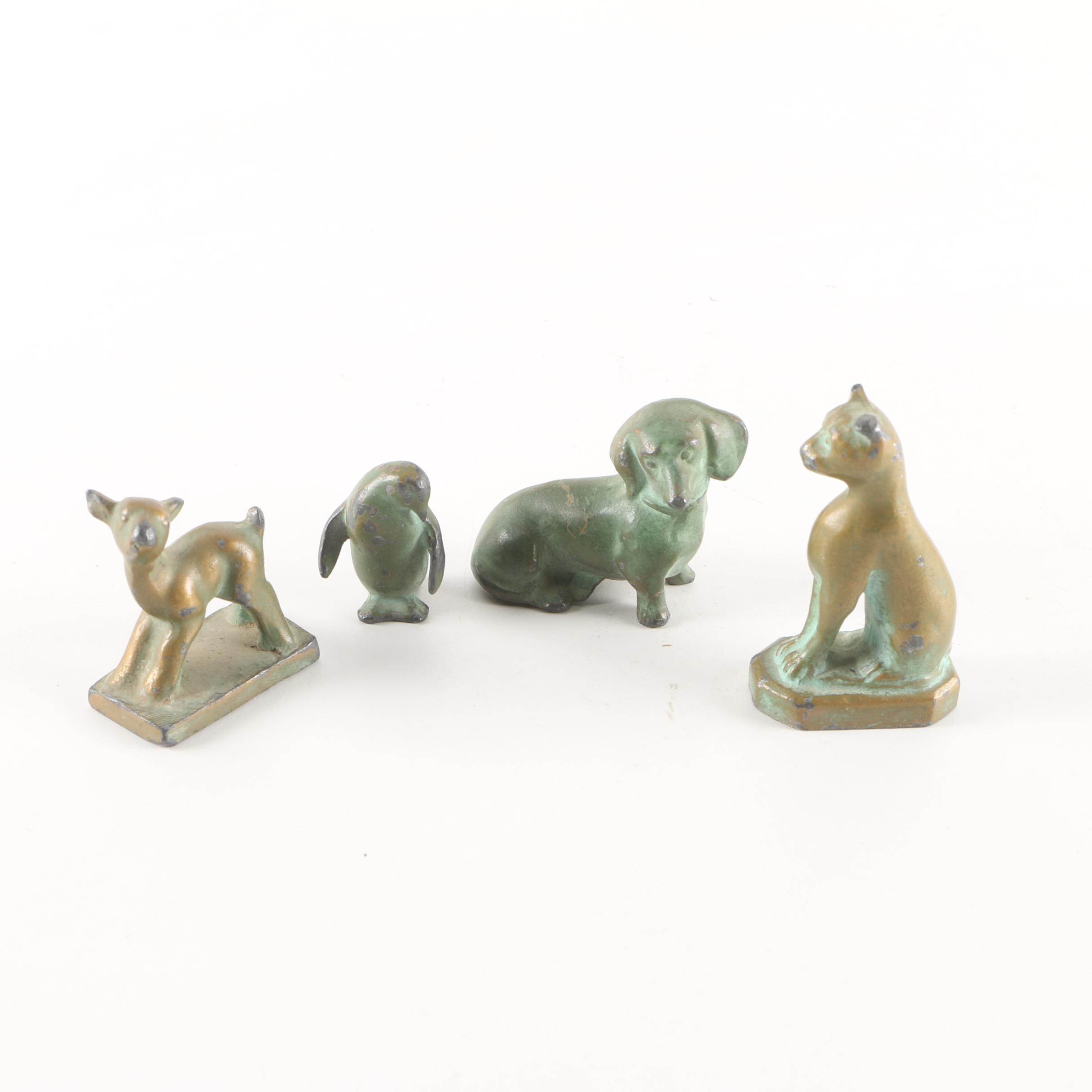 Brass Animal Figurines