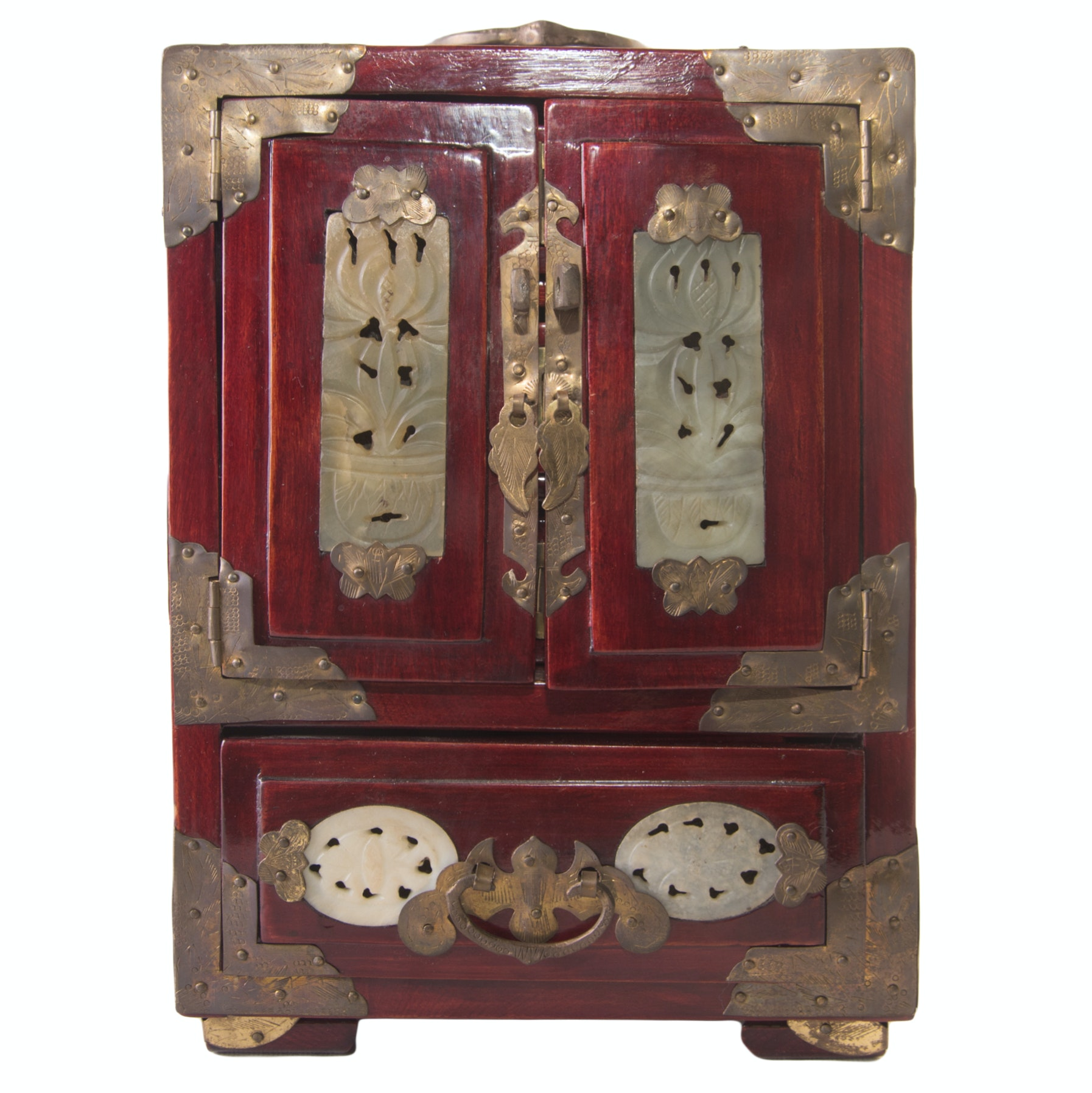 Chinese lacquered Jewelry Box