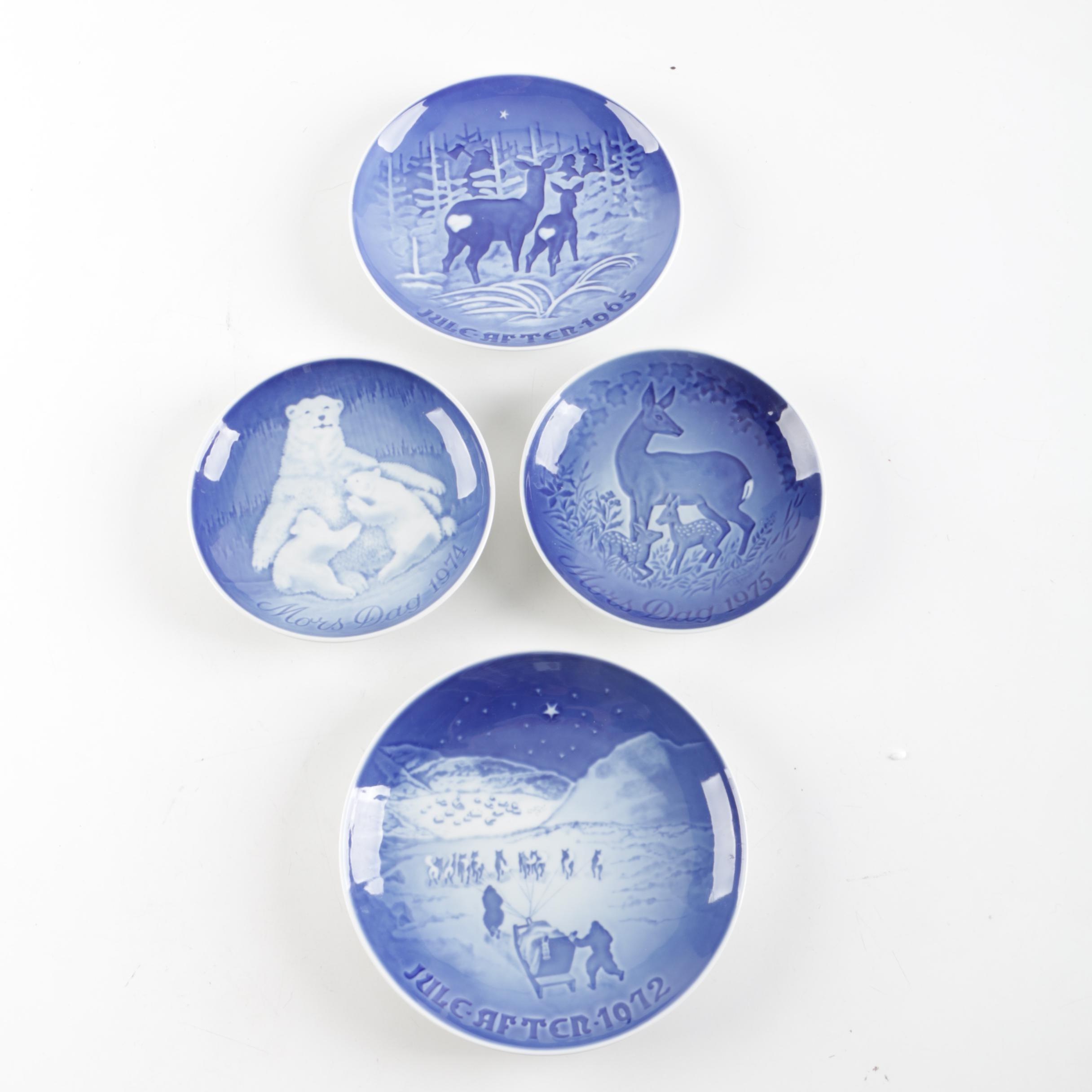 Royal Copenhagen Vintage Collectors Plates