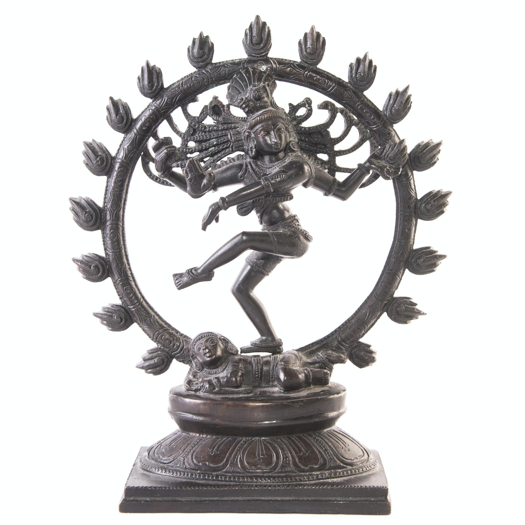 Bronze Shiva Nataraja Sculpture