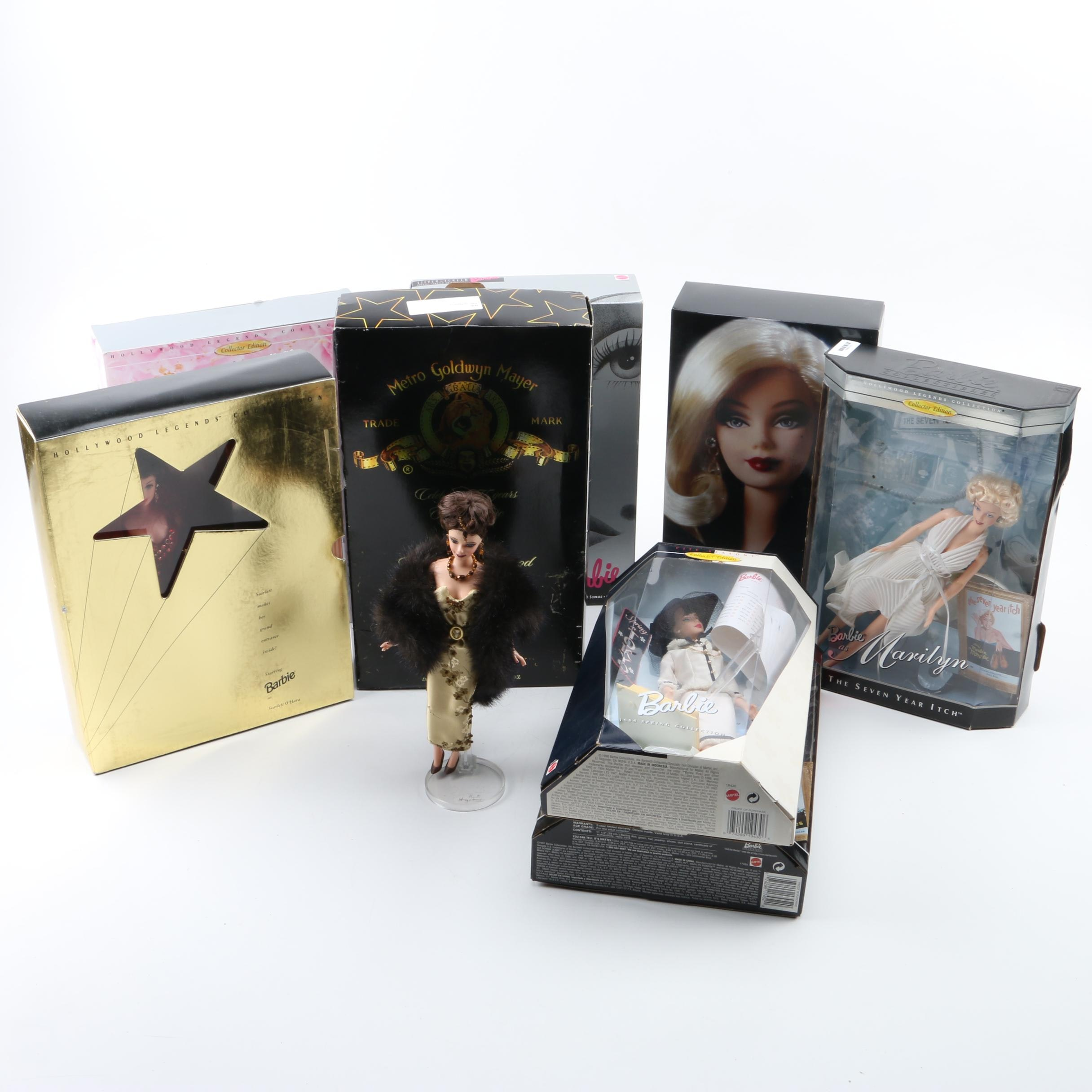 """Mattel Collector Edition Barbie Dolls Featuring """"Barbie as Marilyn"""""""