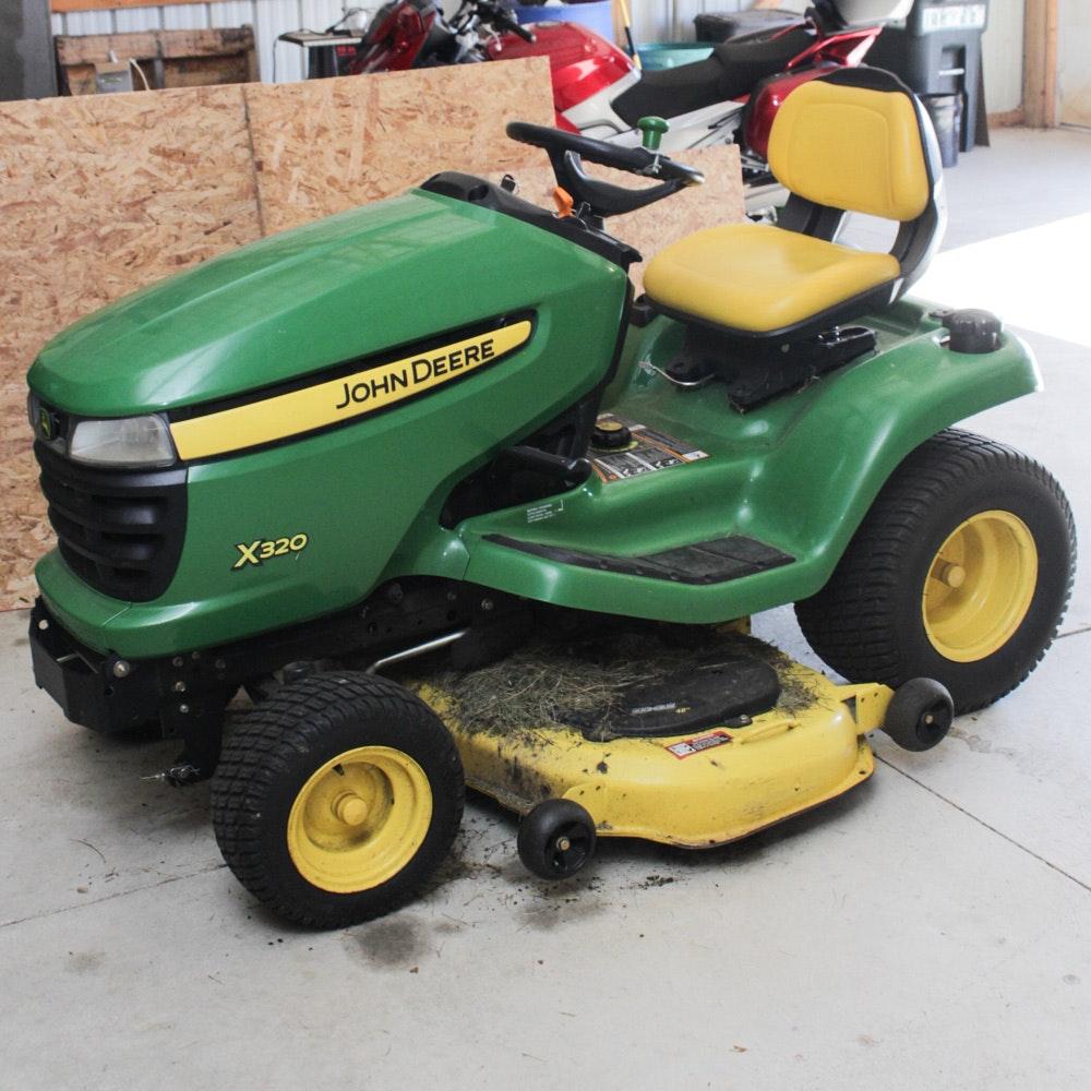 John Deere X320 Yard Tractor