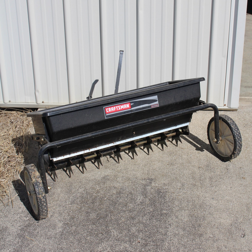 Craftsman Seeder Aerator