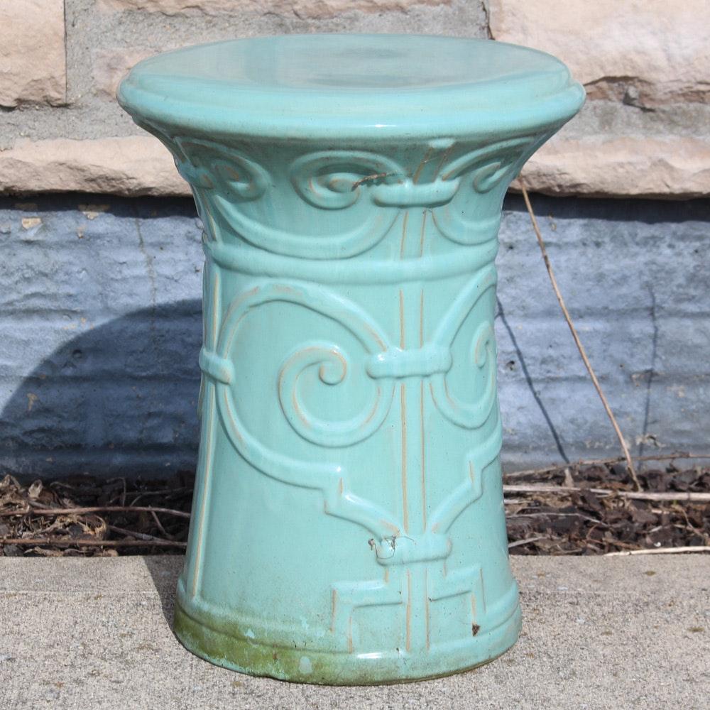 Ceramic Garden Plant Stand