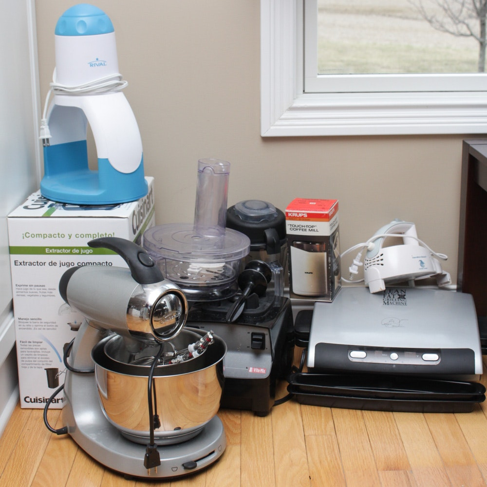 VitaMix and More Small Kitchen Appliances