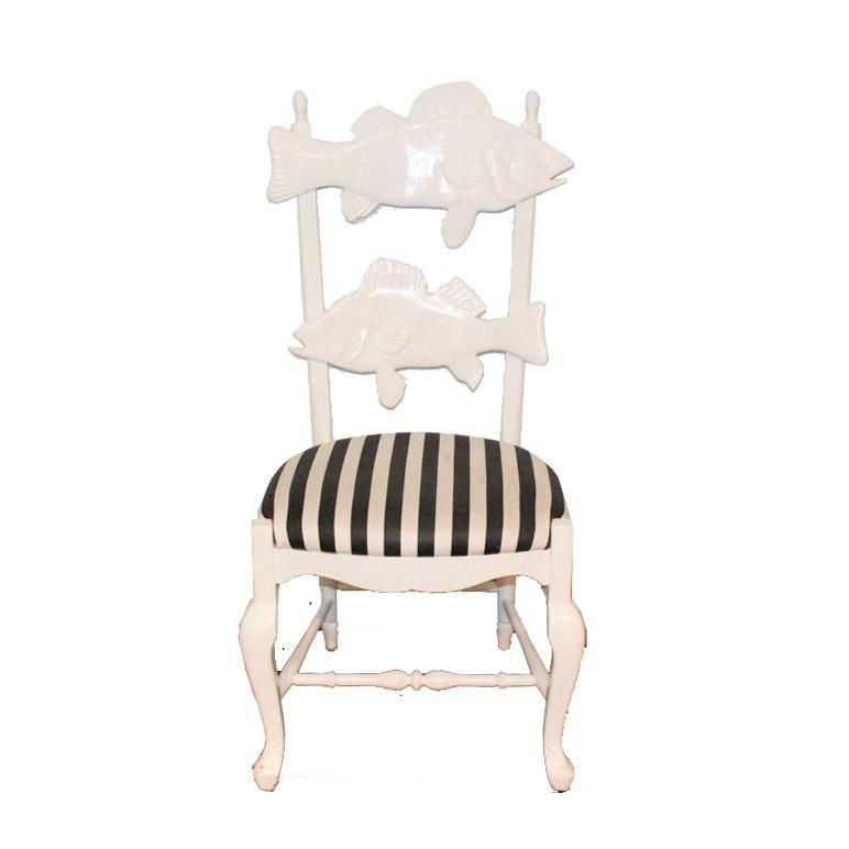 MacKenzie-Childs Cod Fish Chair