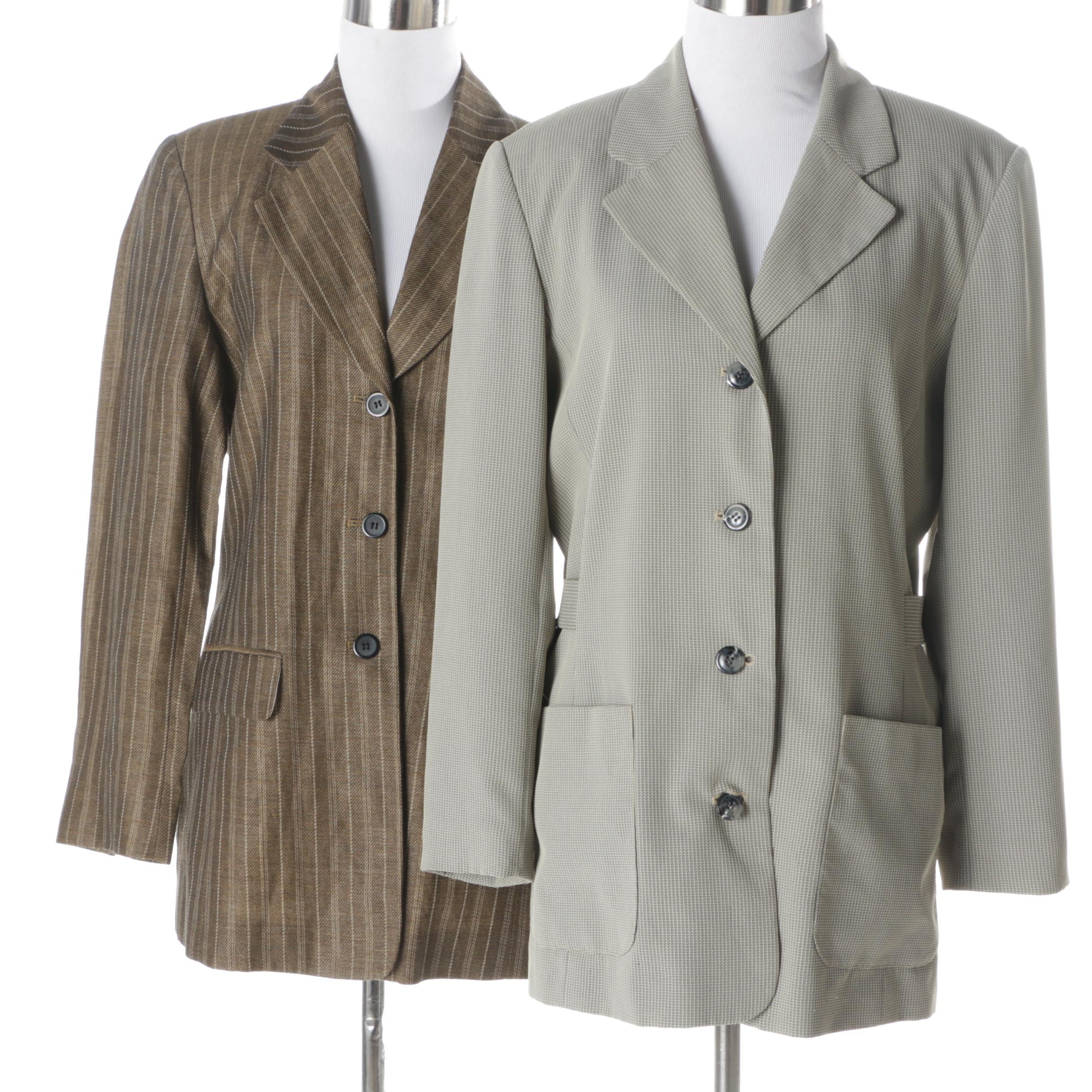 Women's Halston and Mary McFadden Jackets