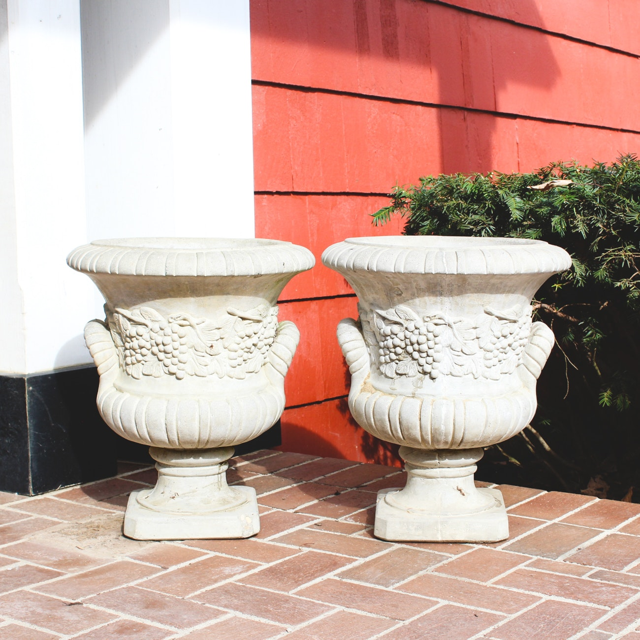 Henri Studio Cast Concrete Outdoor Planters