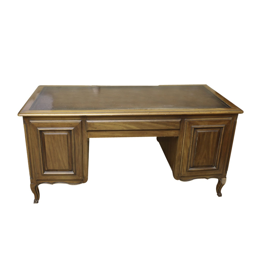 French Provincial Style Executive's Desk