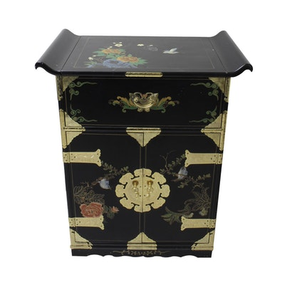 Vintage Chinese Lacquered Cabinet