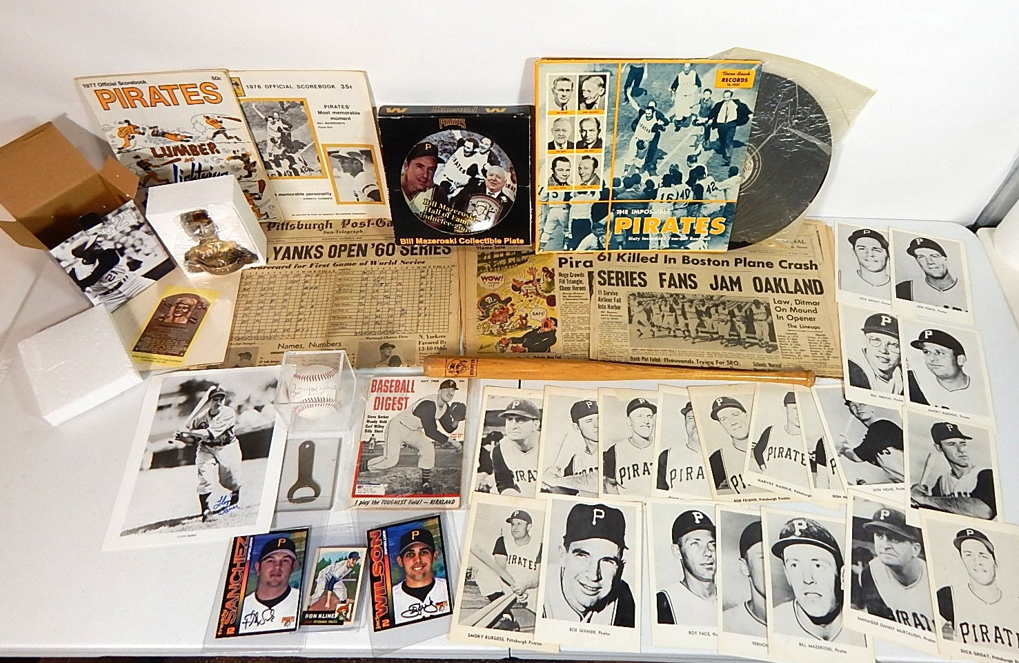 Pittsburgh Pirates Collectibles with Clemente Figure