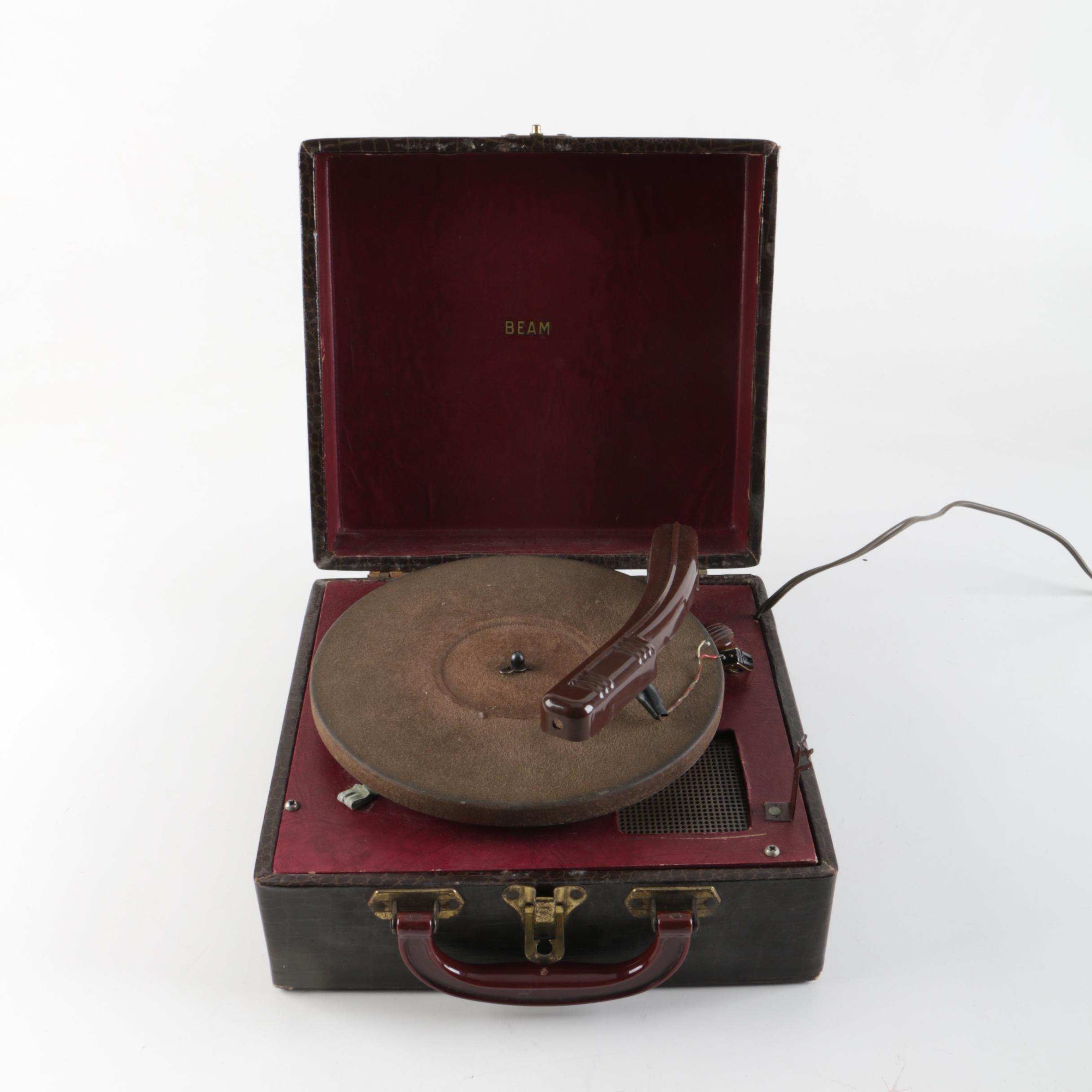 Beam Portable Record Player