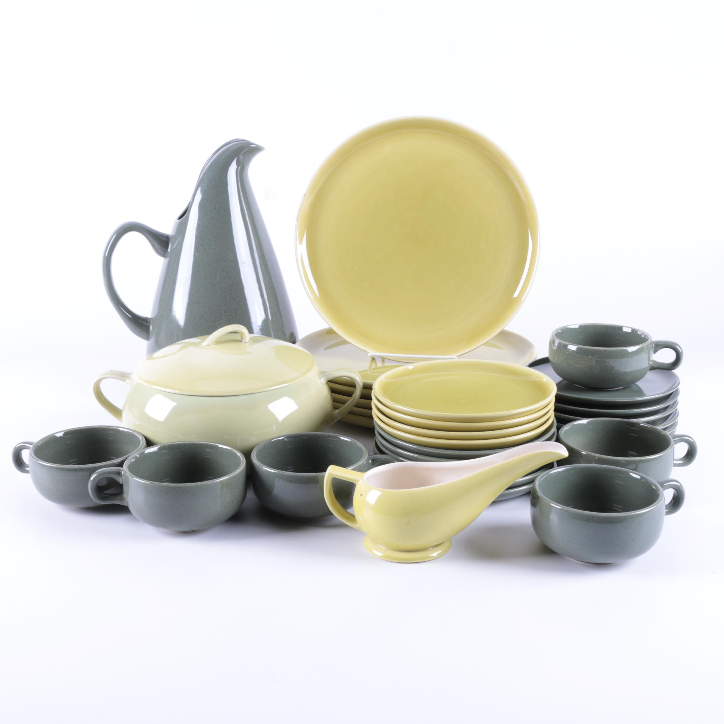 "Mid-Century Russel Wright ""American Modern"" Tableware for Steubenville"