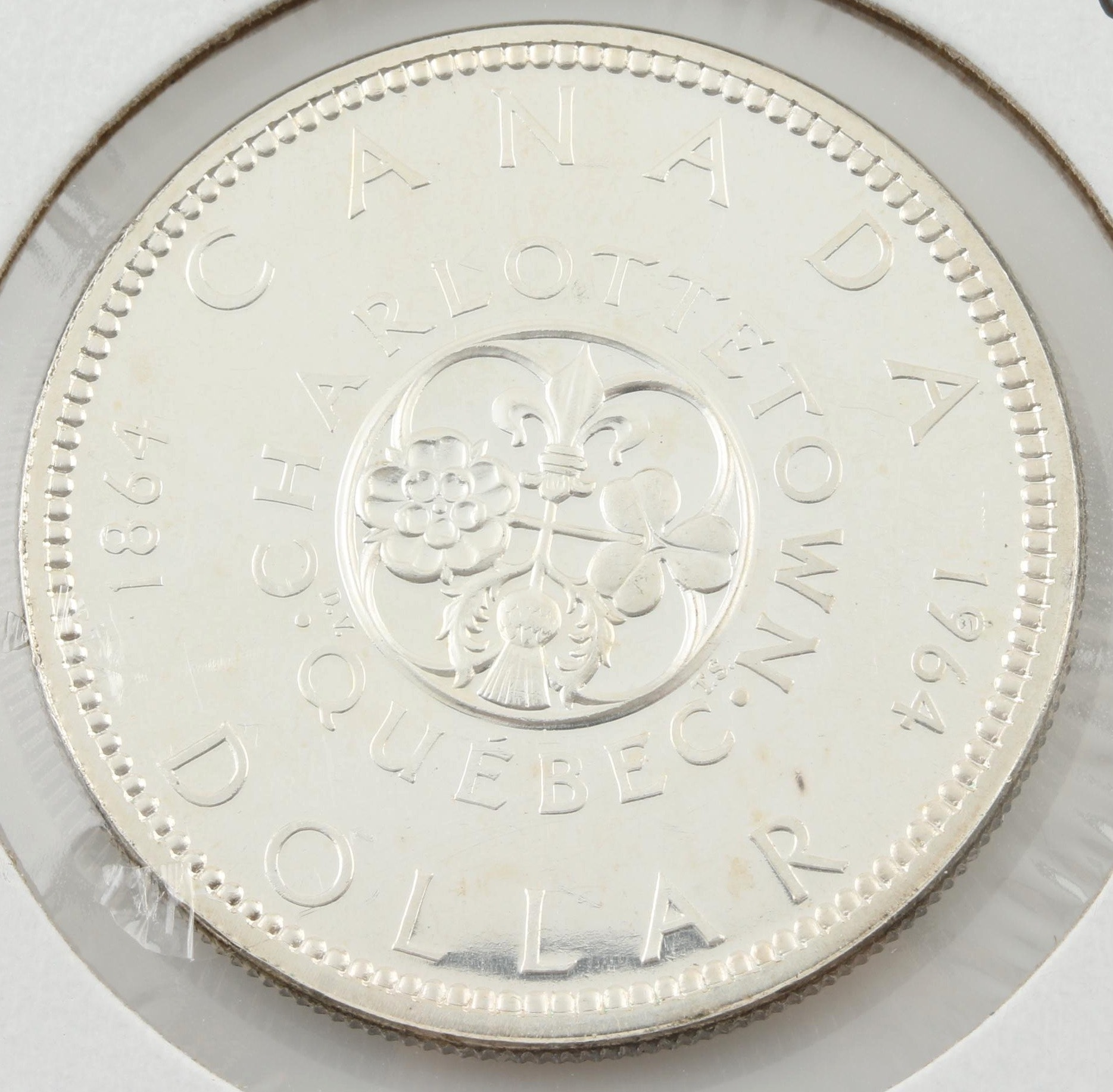 1964 Canadian Silver Dollar