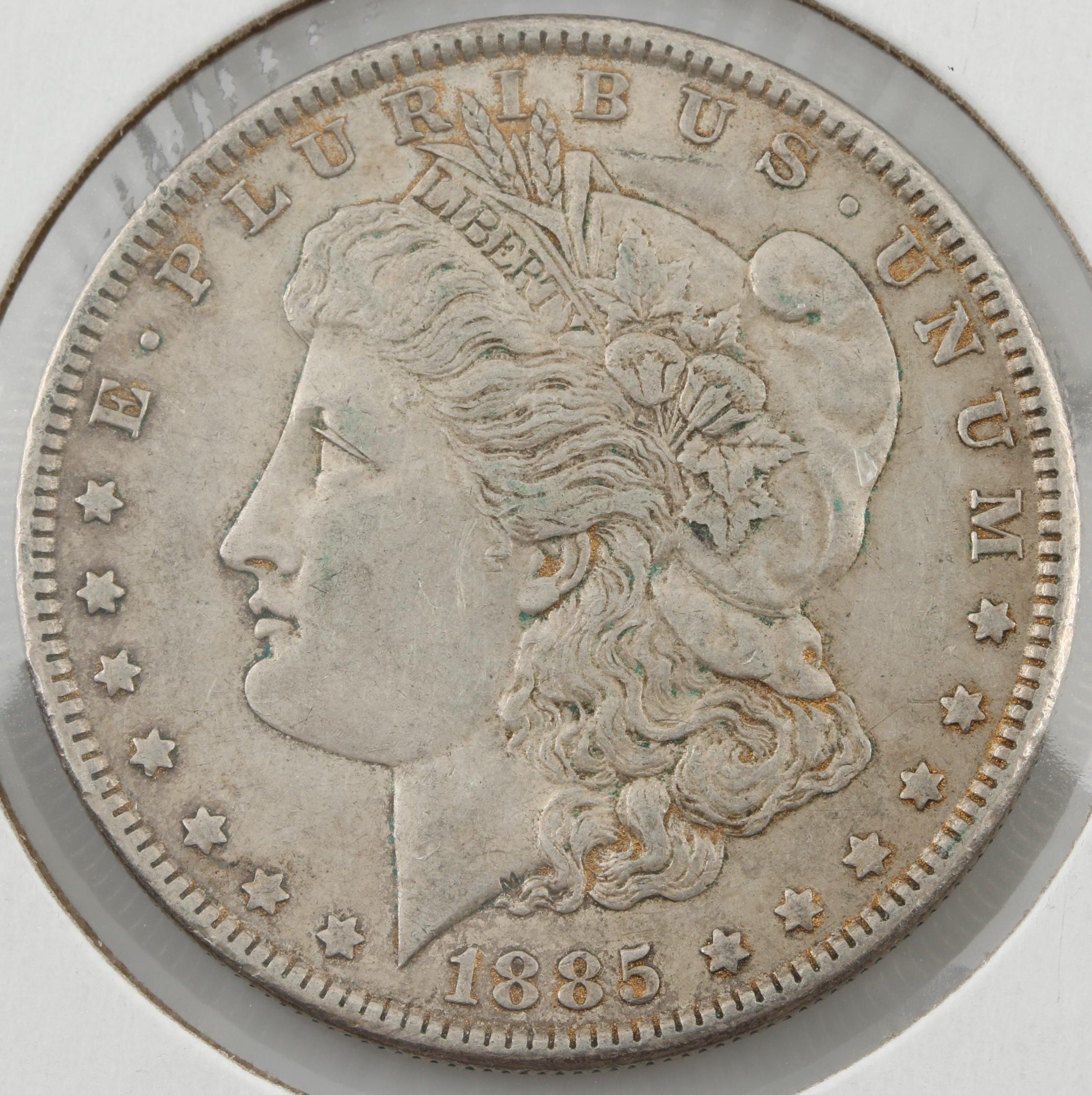 1885 Silver Morgan Dollar