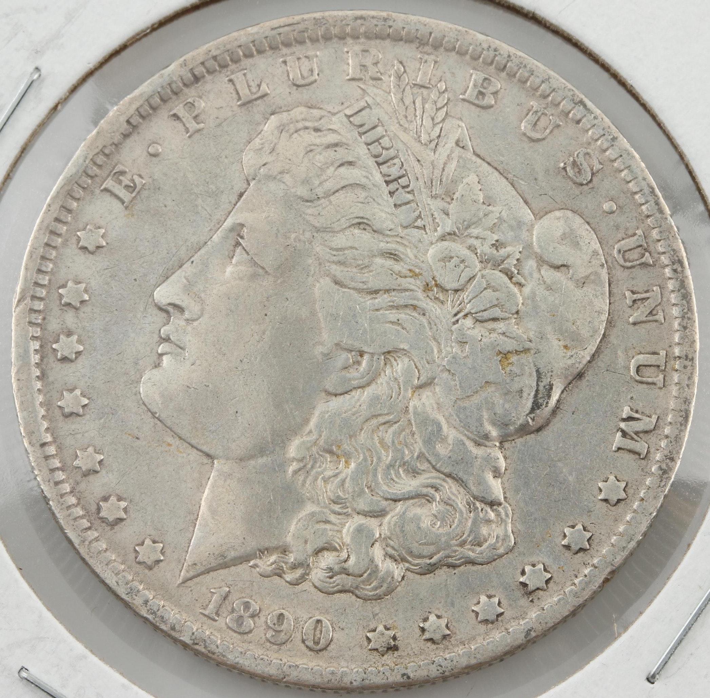 1890-O Silver Morgan Dollar
