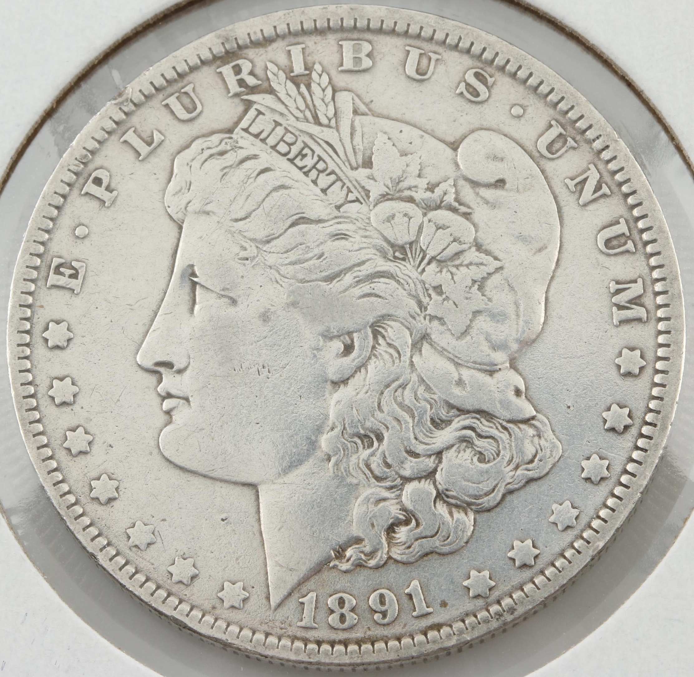 1891-O Silver Morgan Dollar