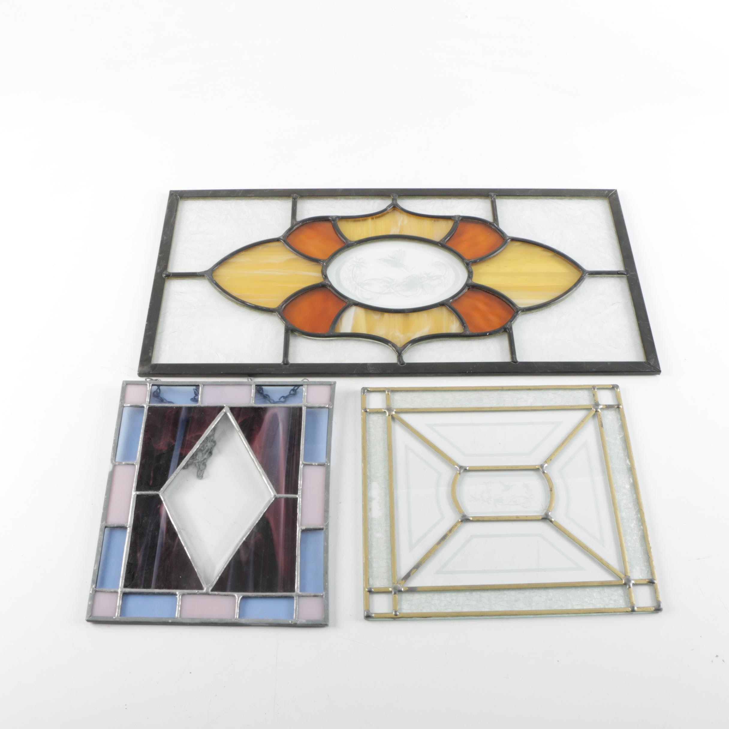 Assortment of Stain Glass