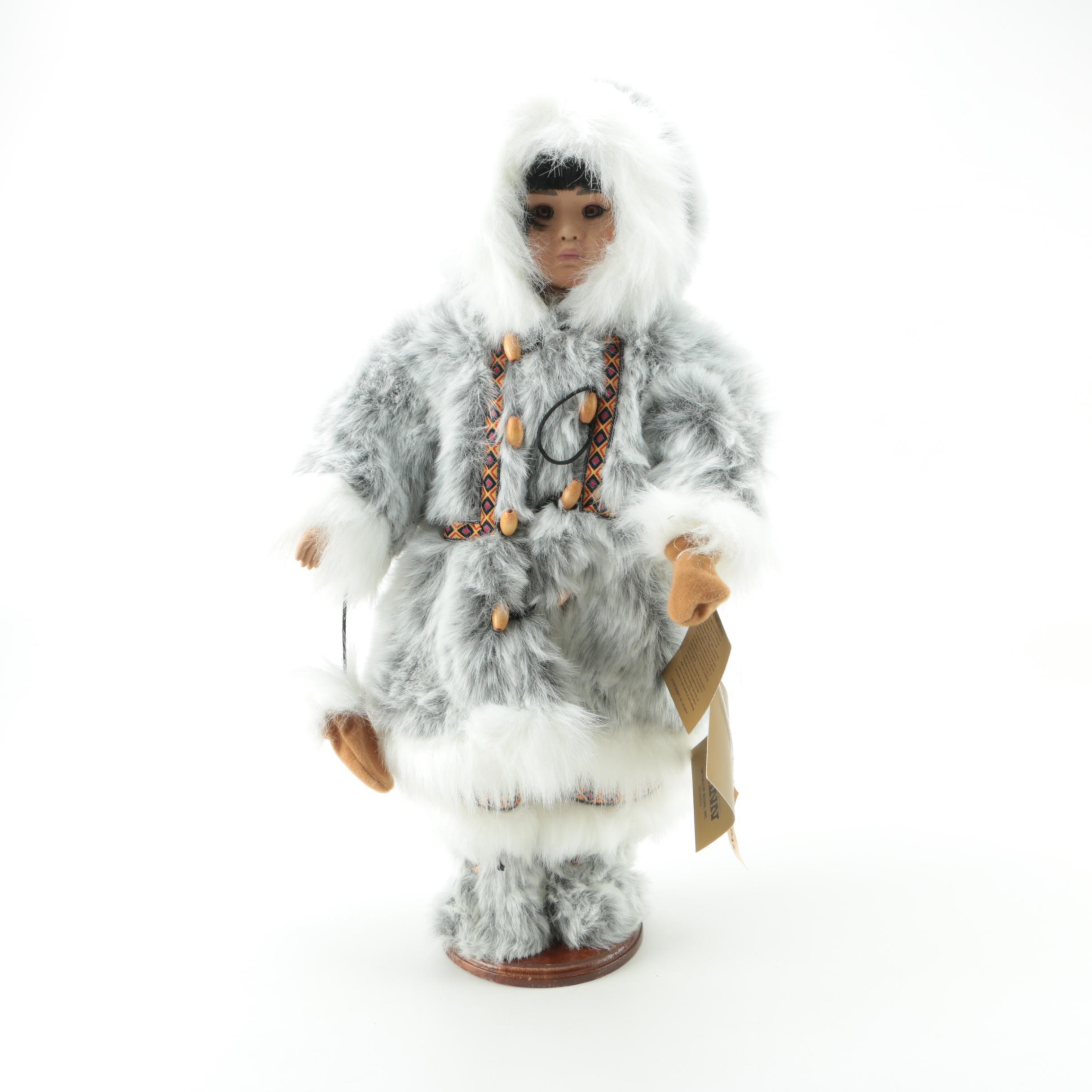 "Seymour Mann ""Adak"" Porcelain Doll by Pamela Phillips"