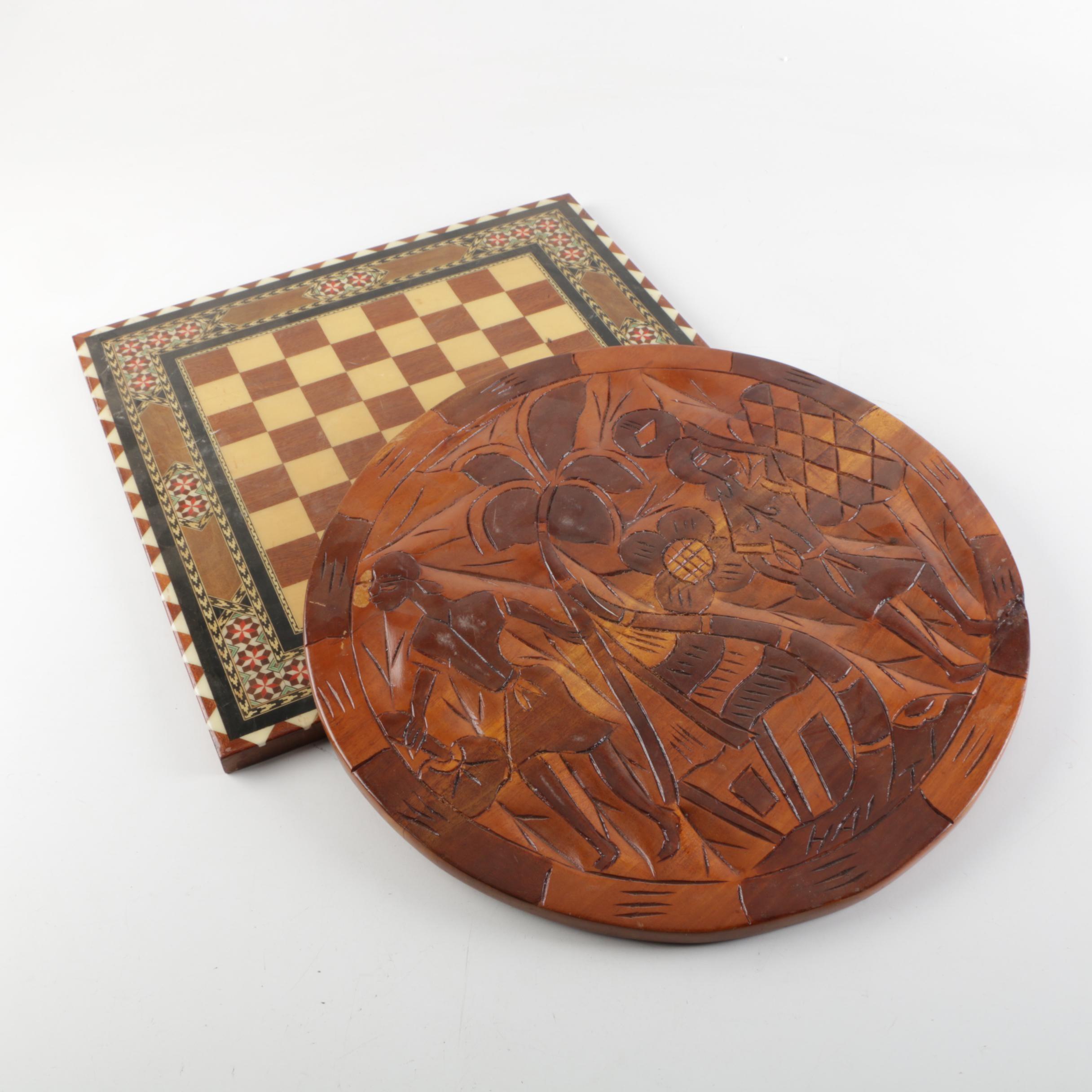 Decorative Chess Boards