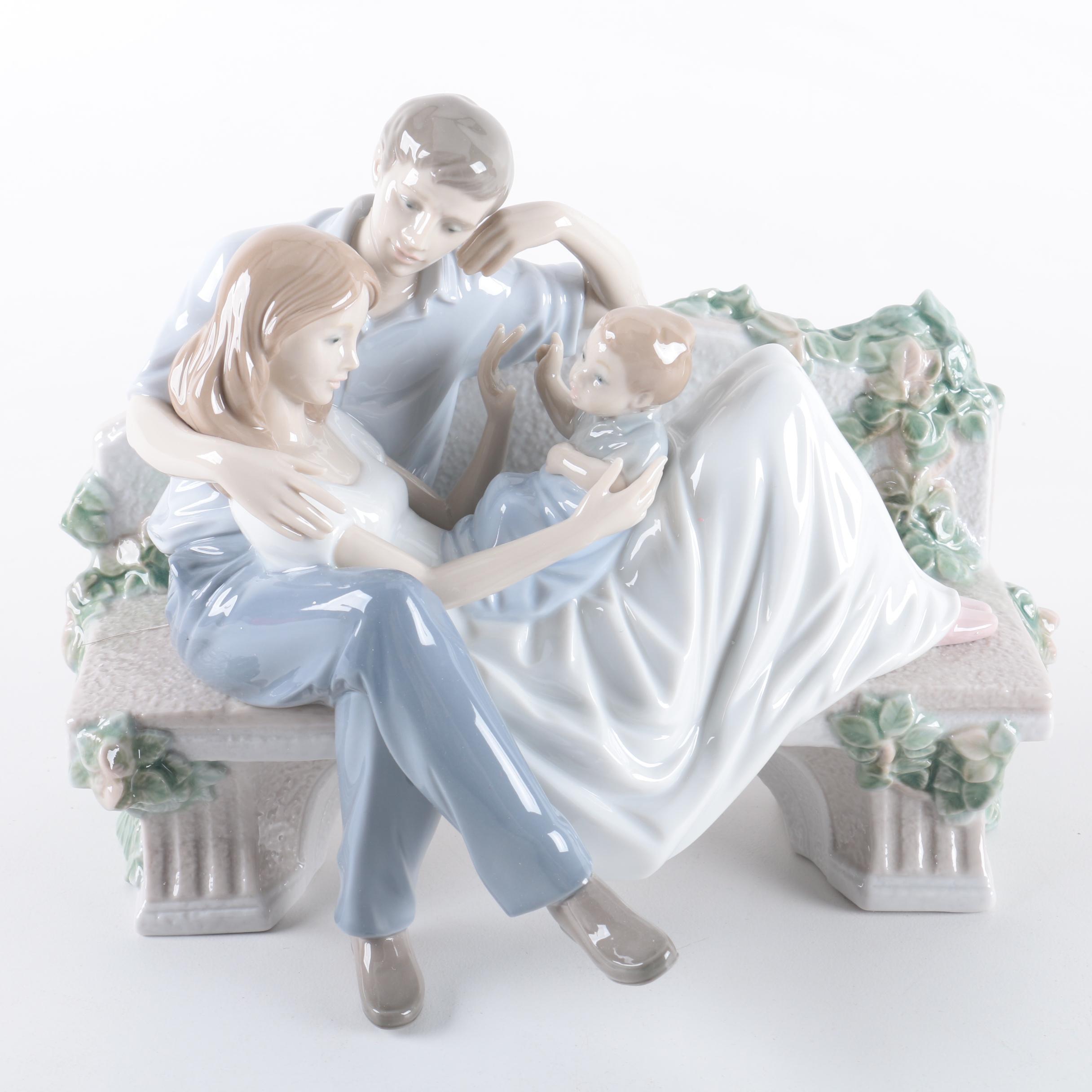 "Lladró ""A Priceless Moment"" Figurine"