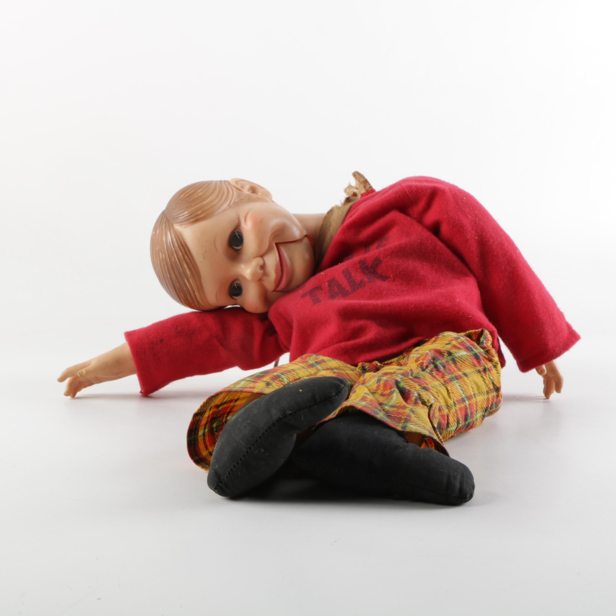 "1970s Horsman ""Willie Talk"" Ventriloquist Puppet"