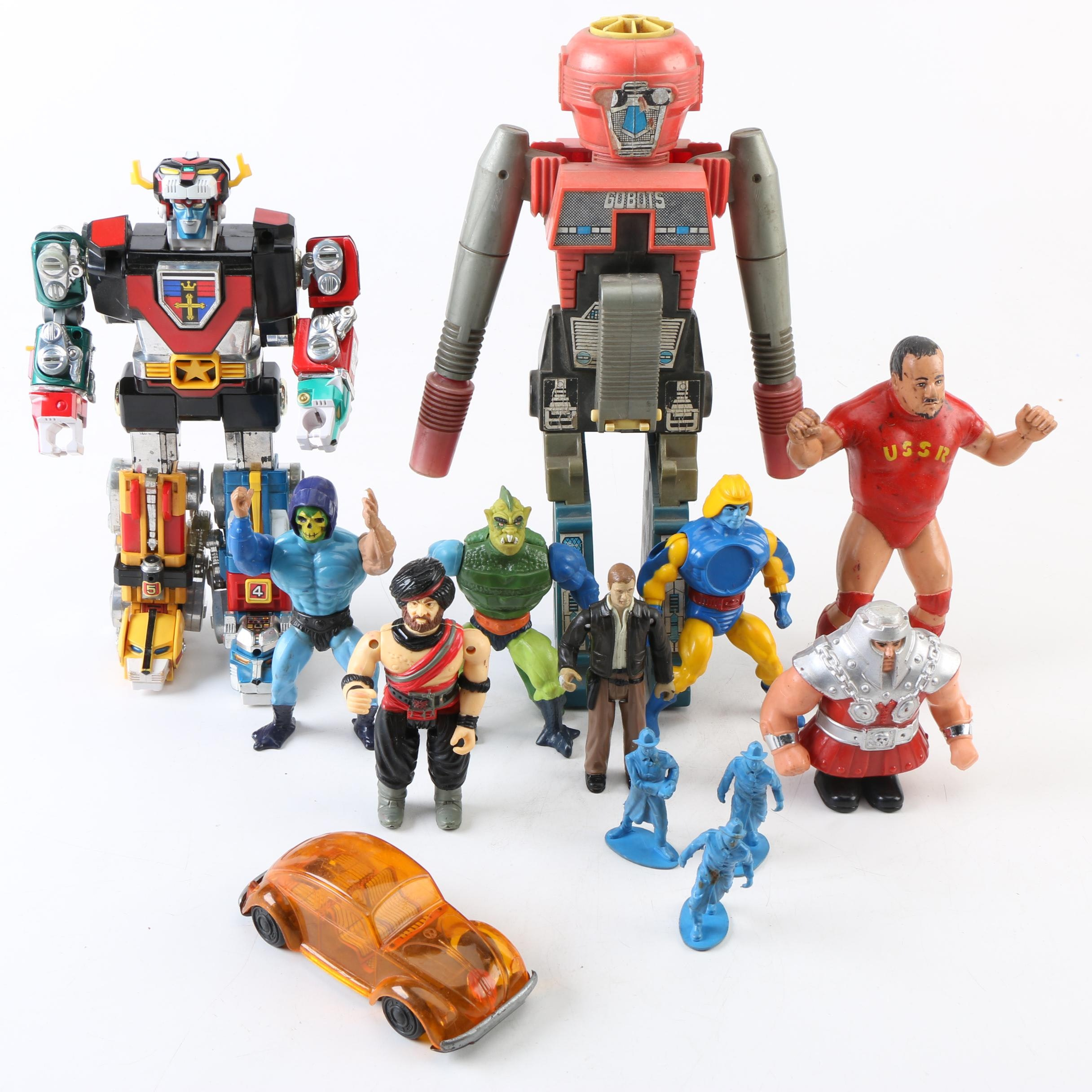 Voltron, Skeletor and Other Vintage Toys and Action Figures