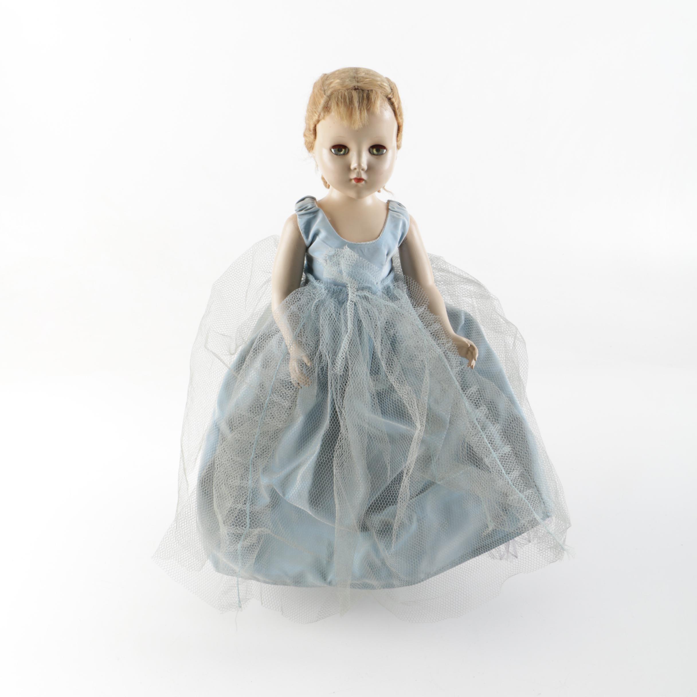 Circa 1950s Madame Alexander Style Composition Doll