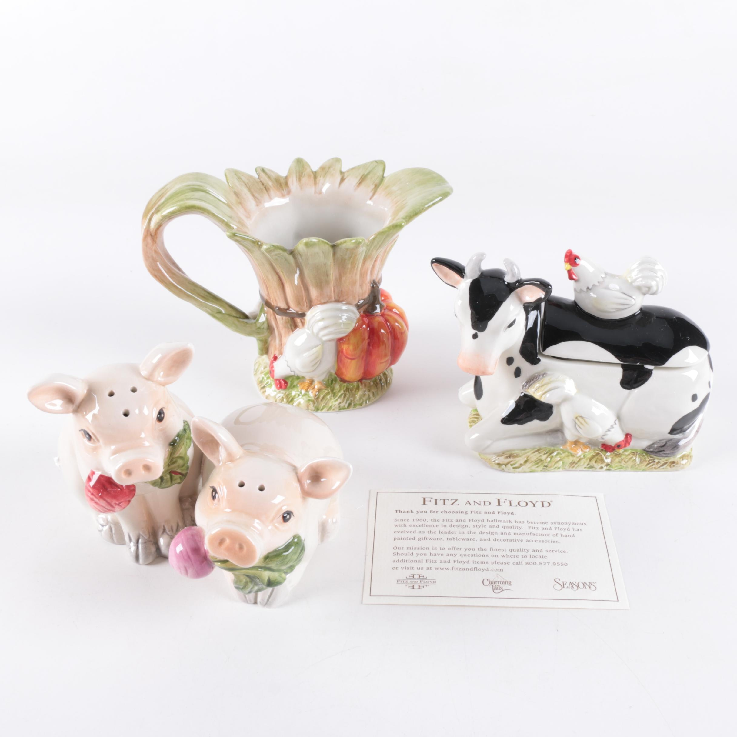 Fitz and Floyd Ceramic Tableware