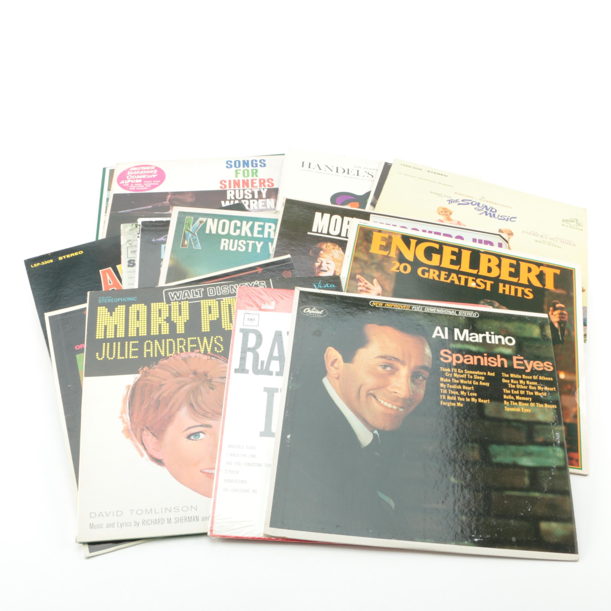 """""""Mary Poppins"""", Al Martino and Other Vintage Vinyl Records"""