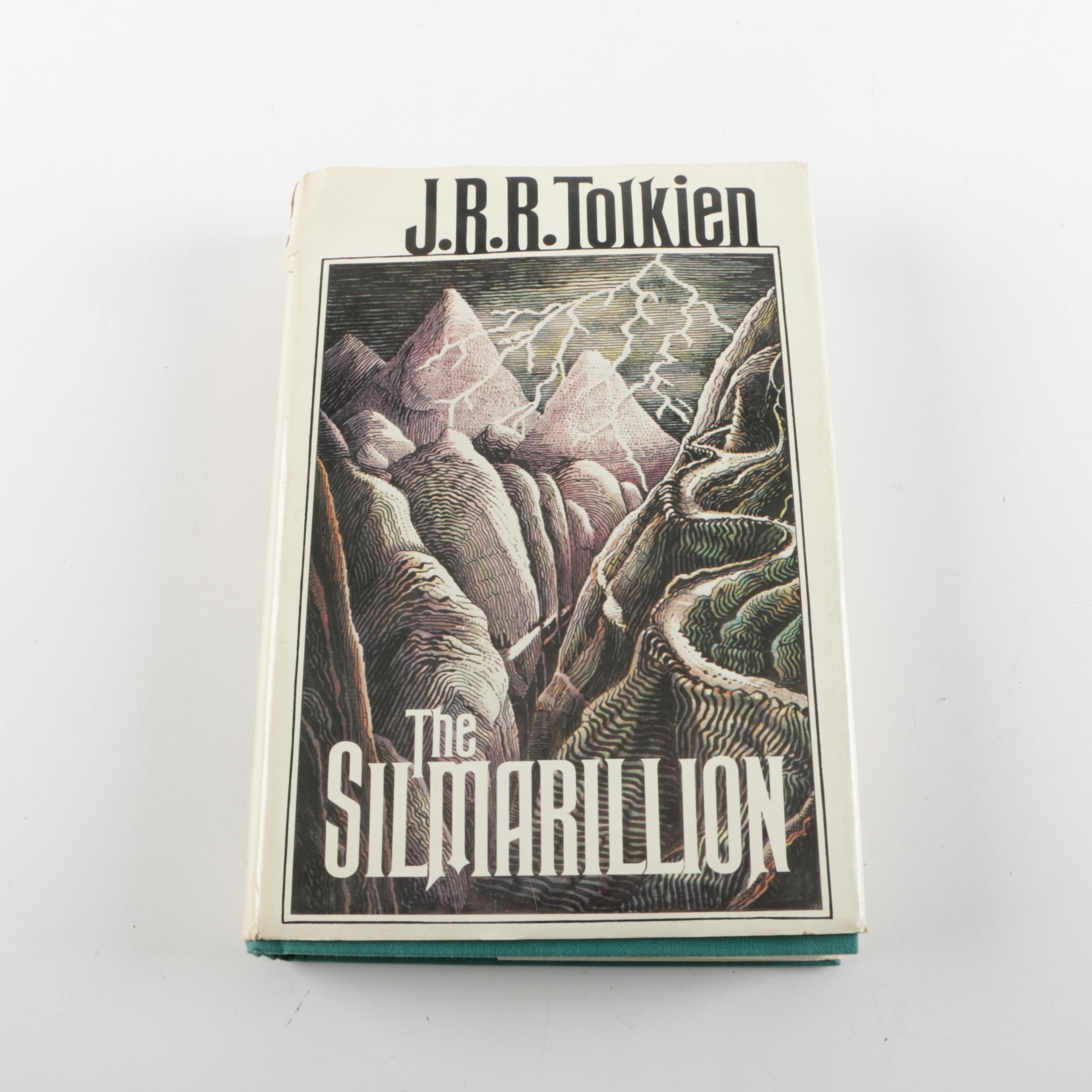 """1977 First American Edition """"The Silmarillion"""" by J.R.R. Tolkien"""