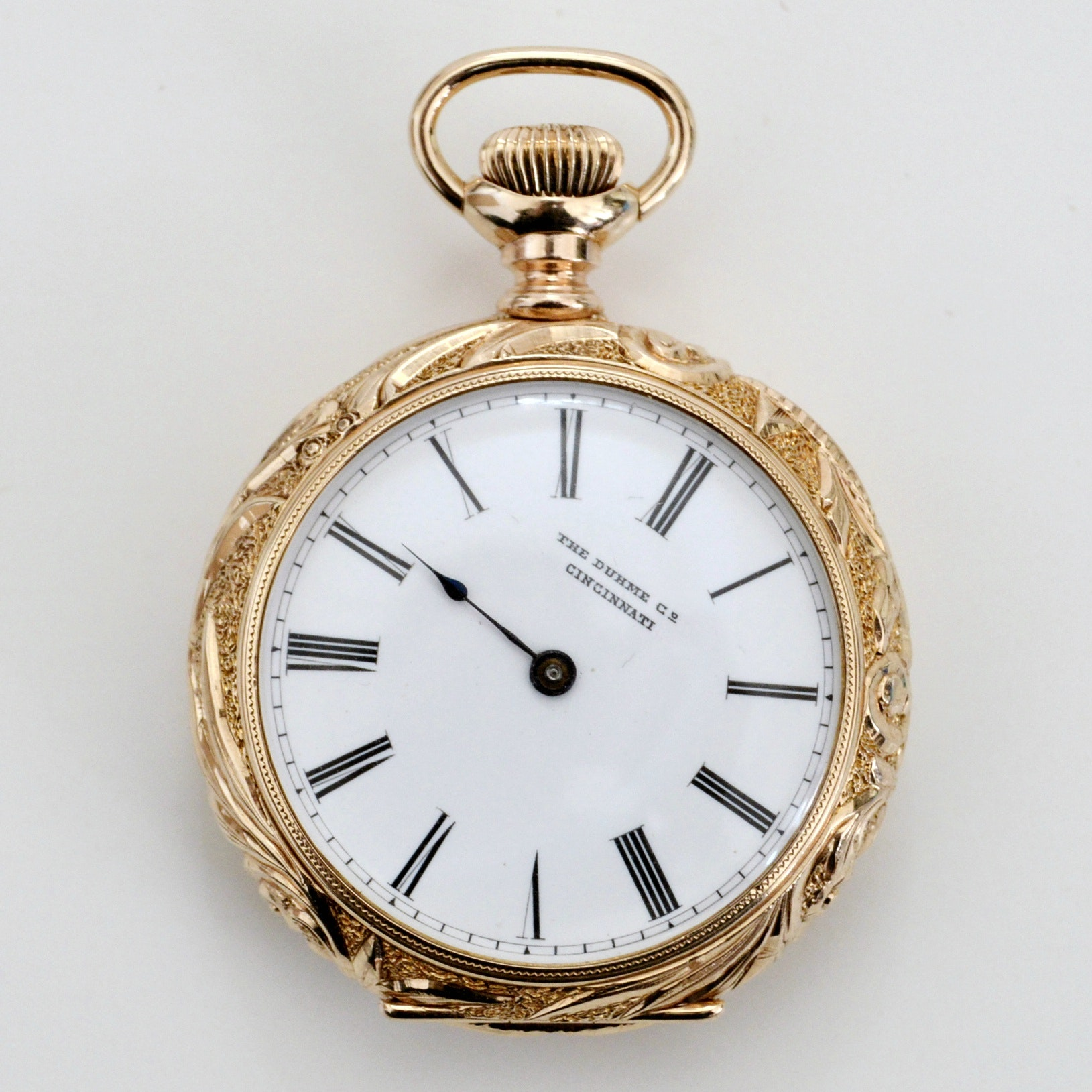 Patek Philippe and The Duhme Co. 14K Yellow Gold Pocket Watch