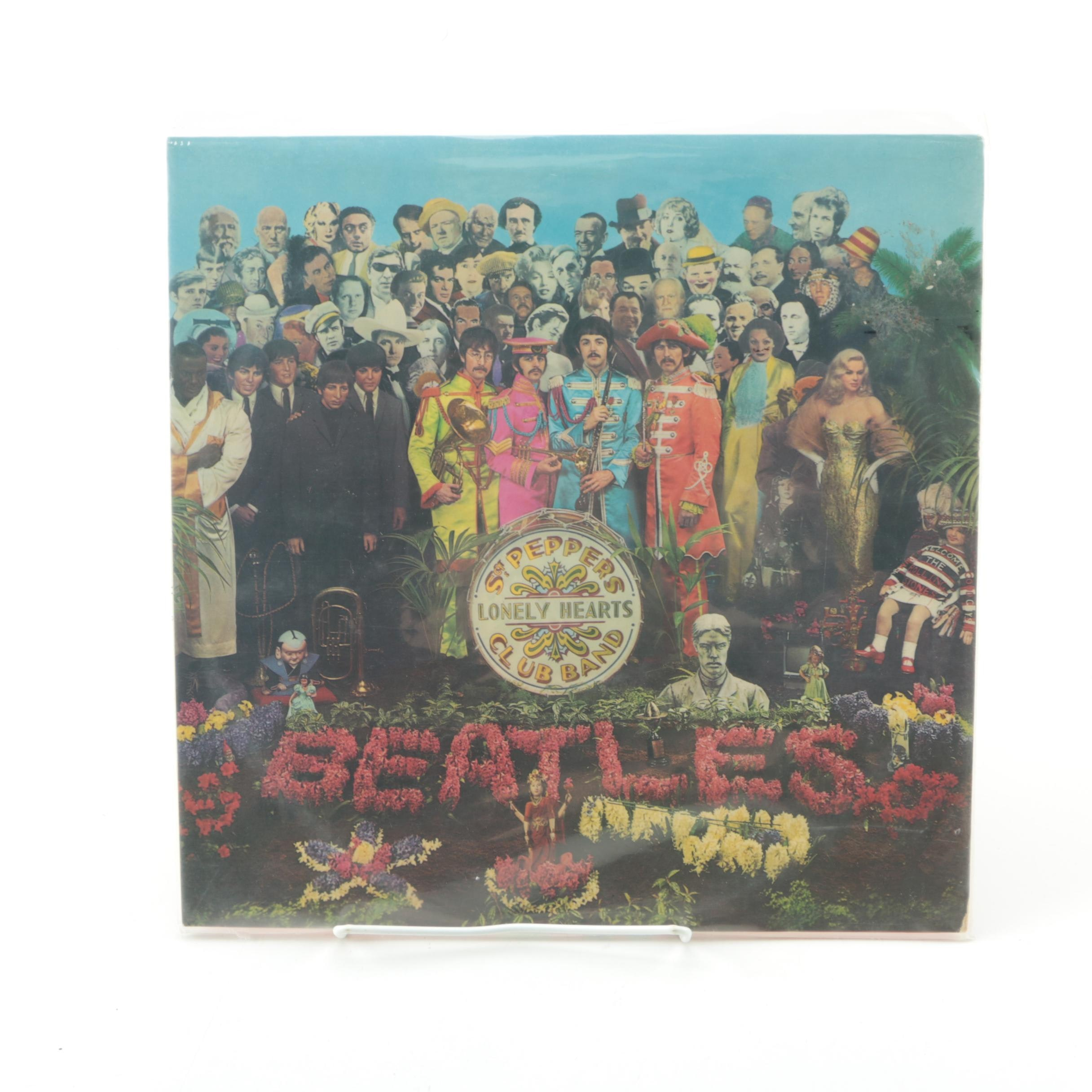 """The Beatles """"Sgt. Pepper"""" U.K. Stereo Record Pressing"""