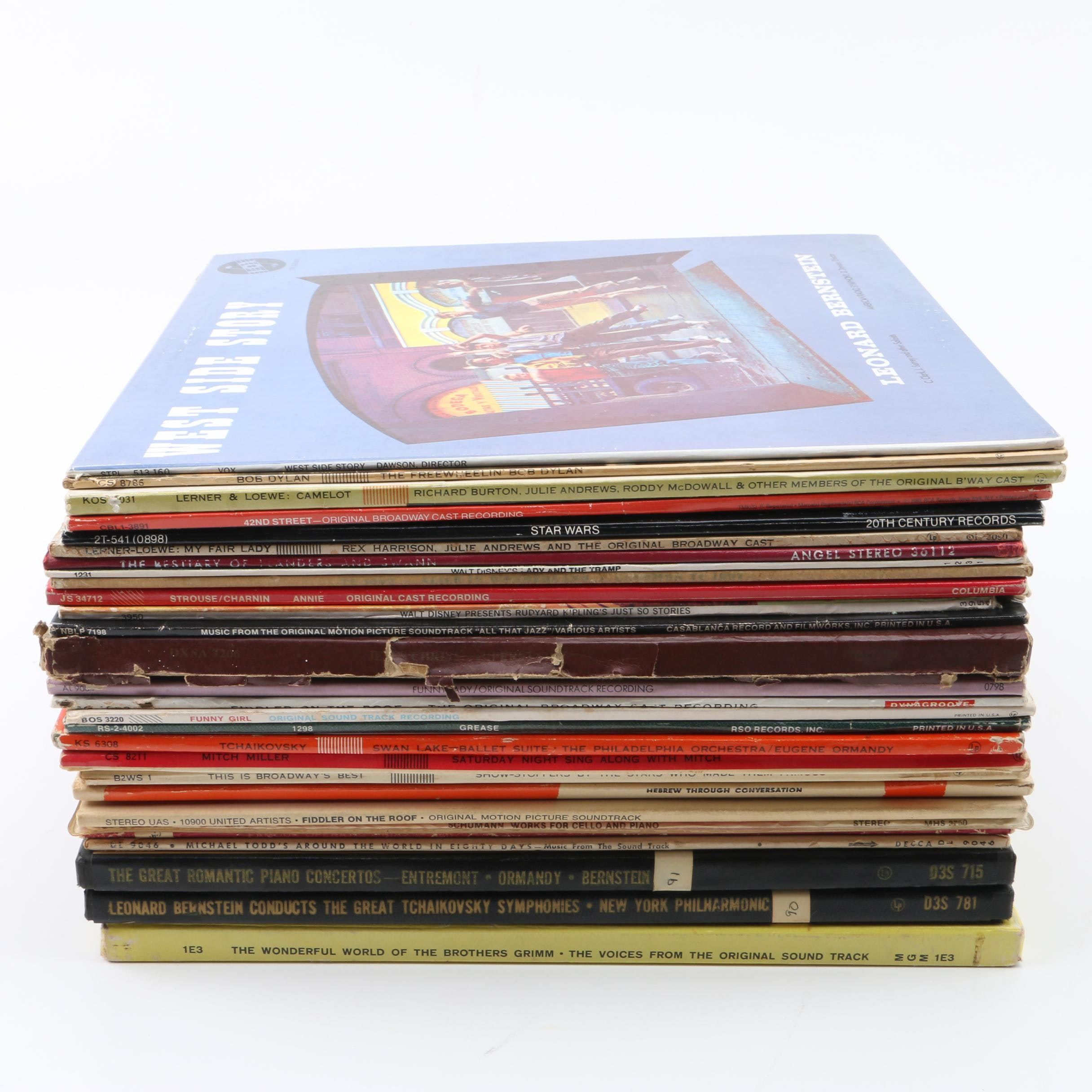 Classical and Musical Records in Including West Side Story